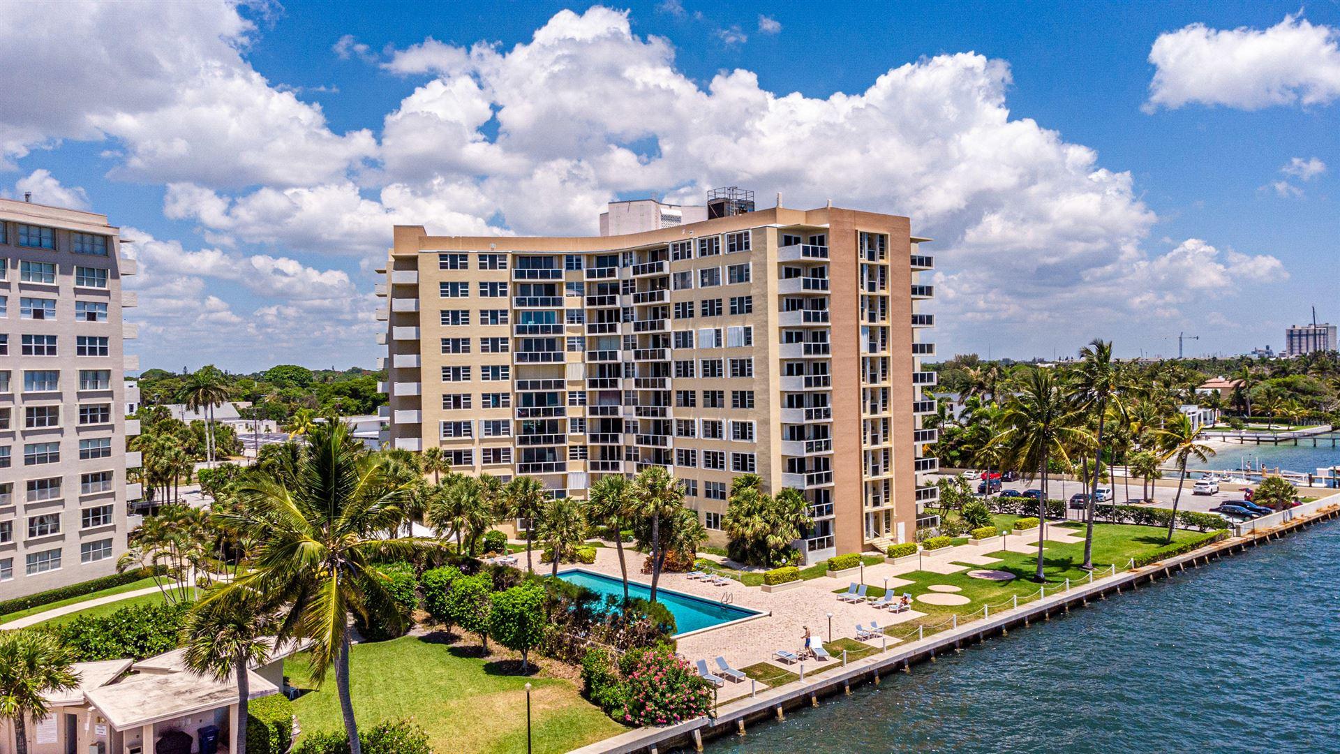 2800 N Flagler Drive #313, West Palm Beach, FL 33407 - #: RX-10721709