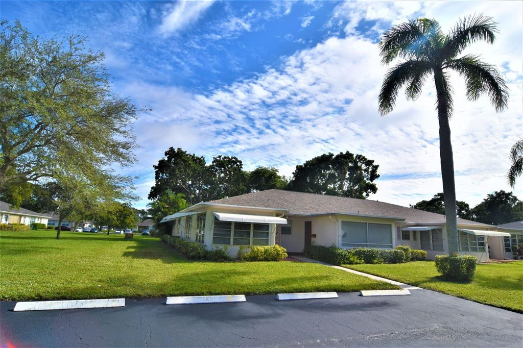 Photo for 1377 High Point Way SW #A, Delray Beach, FL 33445 (MLS # RX-10576710)