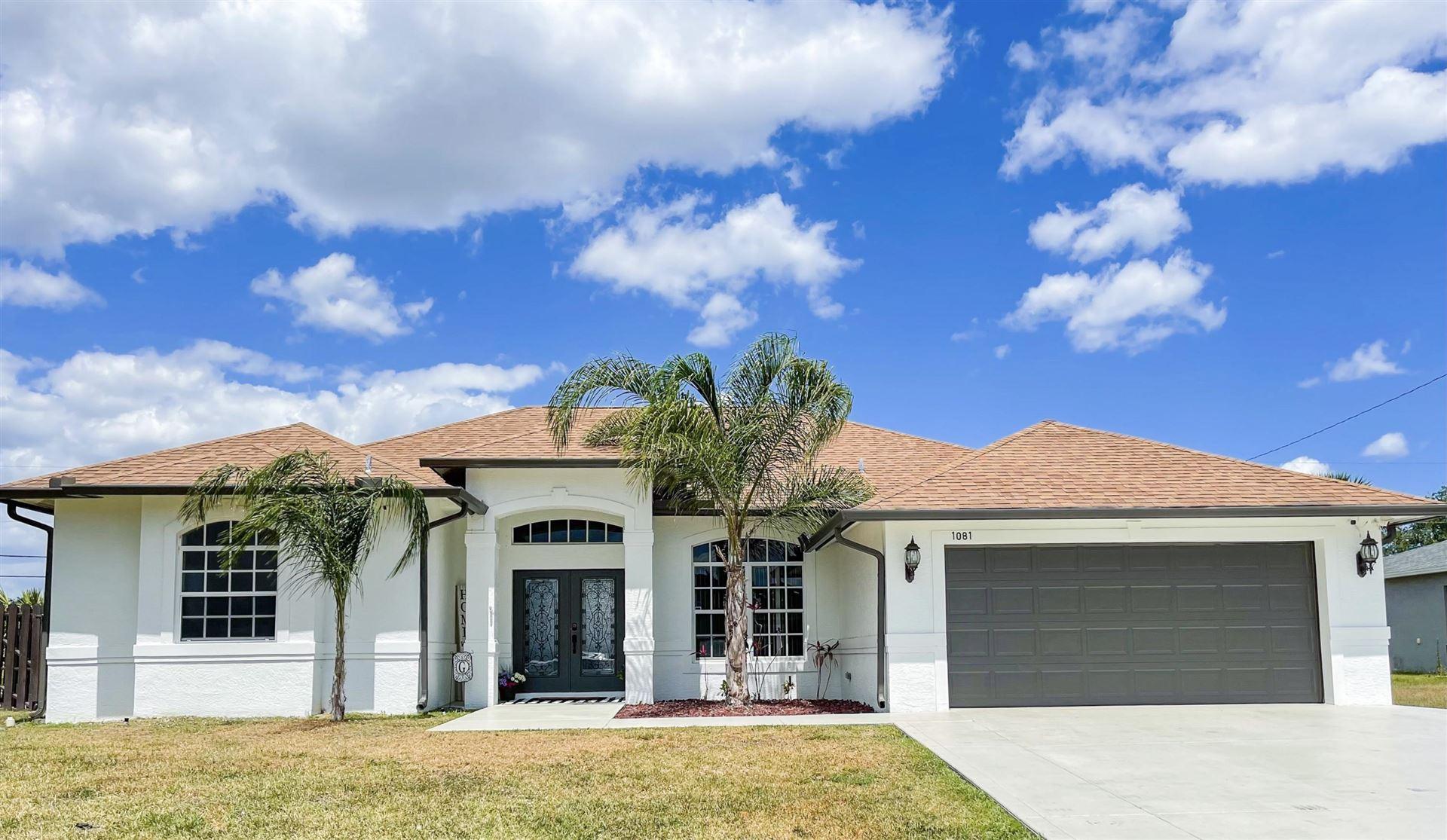 1081 SW Bianca Avenue, Port Saint Lucie, FL 34953 - #: RX-10705712
