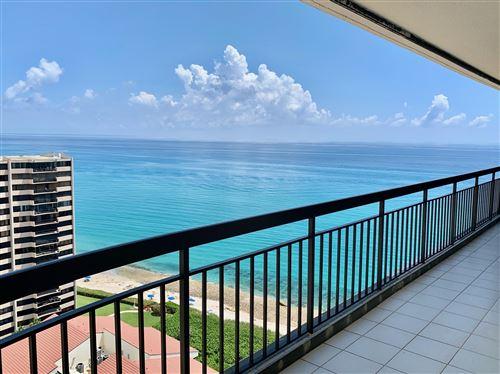 Photo of 4000 N Ocean Drive #2003, Singer Island, FL 33404 (MLS # RX-10664719)