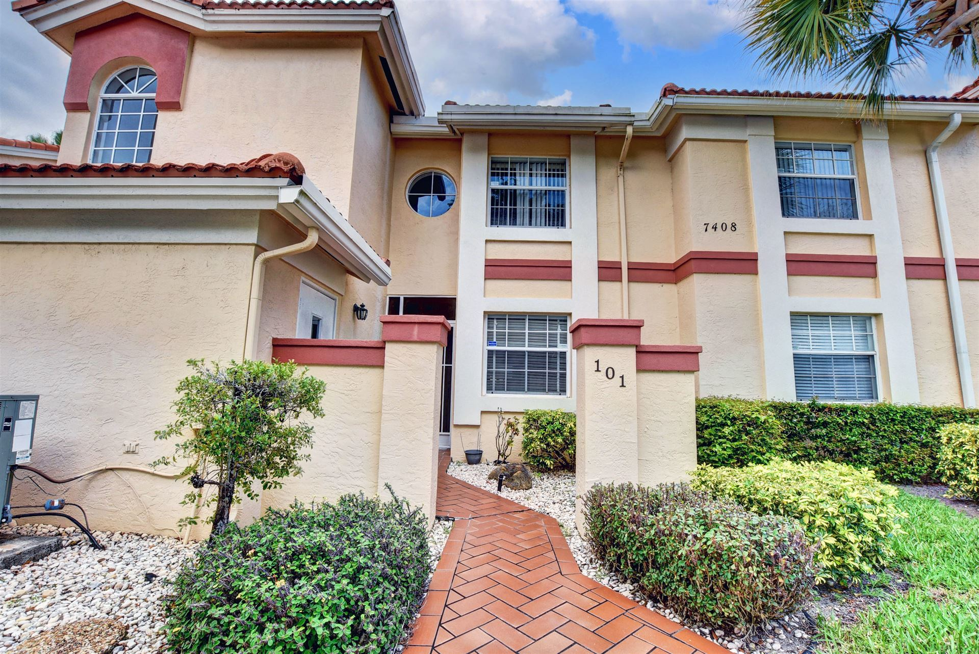 7408 Lake Meadow 101 Way #101, Boynton Beach, FL 33437 - #: RX-10693720