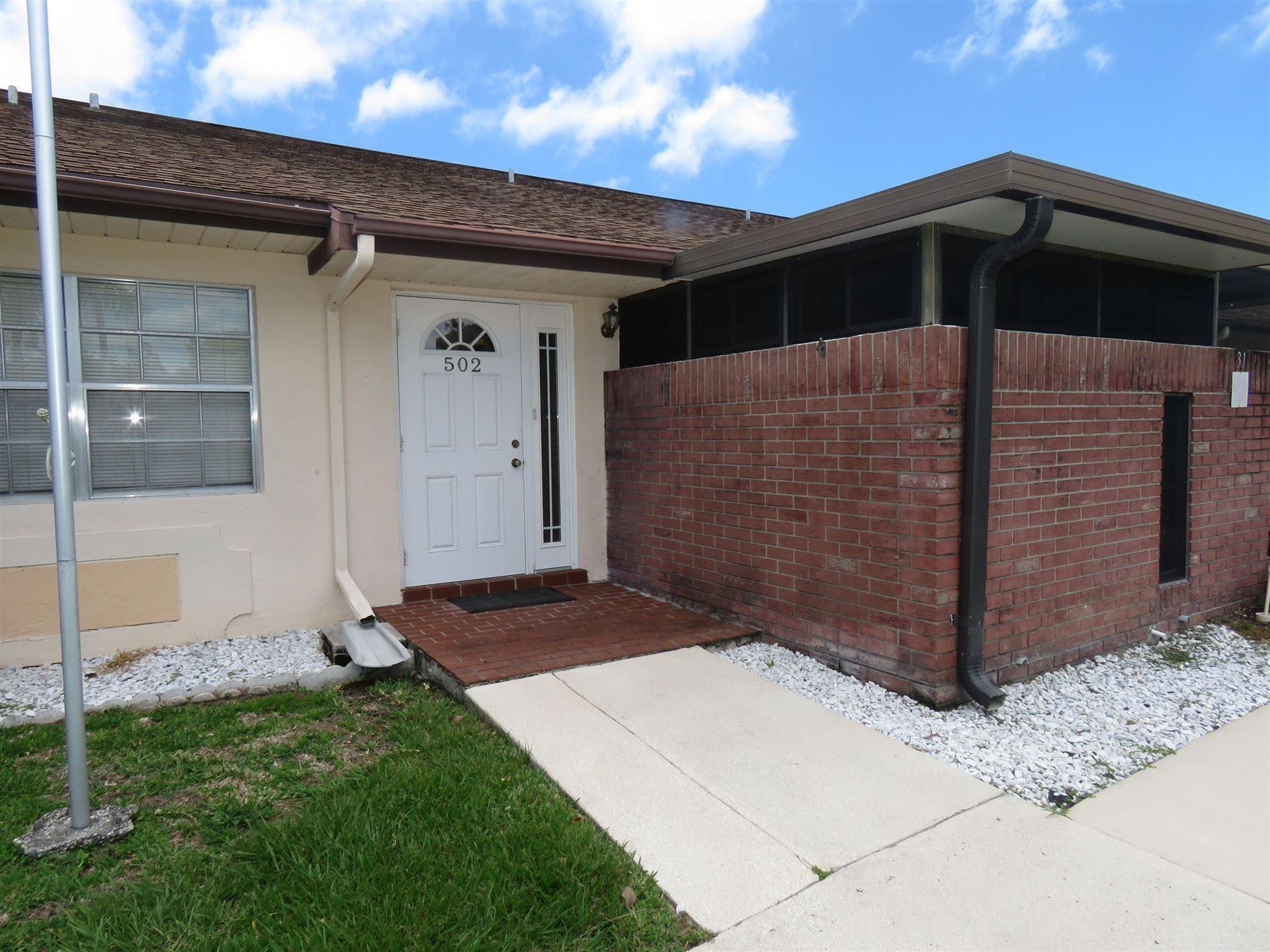 502 Ponderosa Drive #31, Fort Pierce, FL 34982 - #: RX-10623721