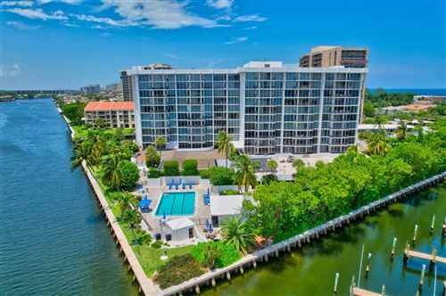 Photo of 4750 S Ocean Boulevard #202, Highland Beach, FL 33487 (MLS # RX-10729722)