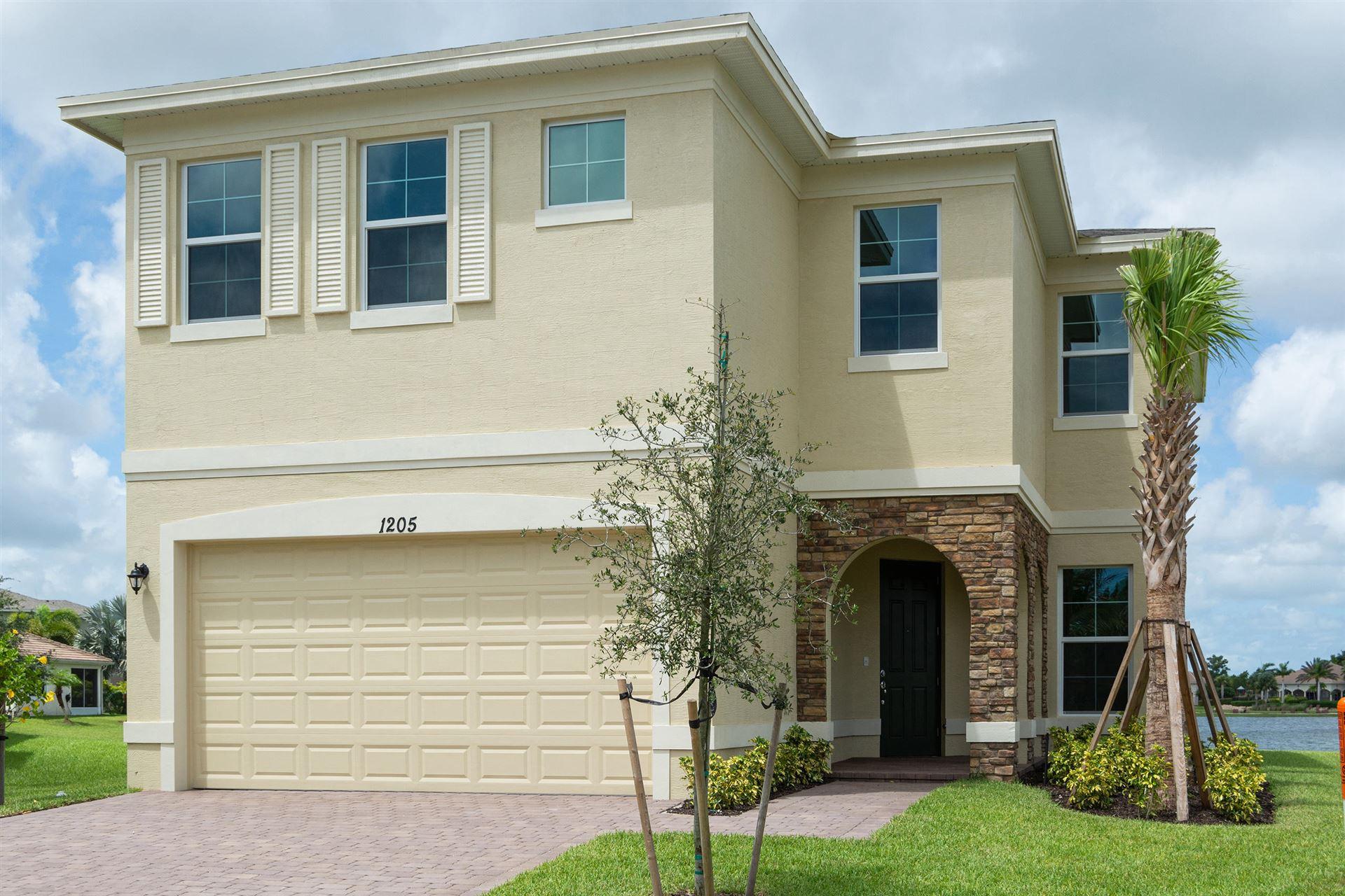 1205 NW Fiorenza Court, Port Saint Lucie, FL 34986 - #: RX-10643722