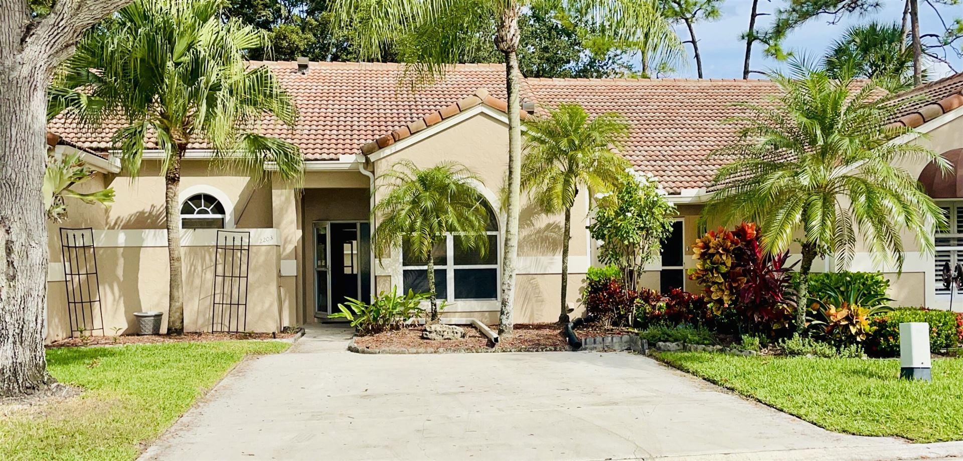 2203 Heather Run Terrace, Palm Beach Gardens, FL 33418 - MLS#: RX-10731722
