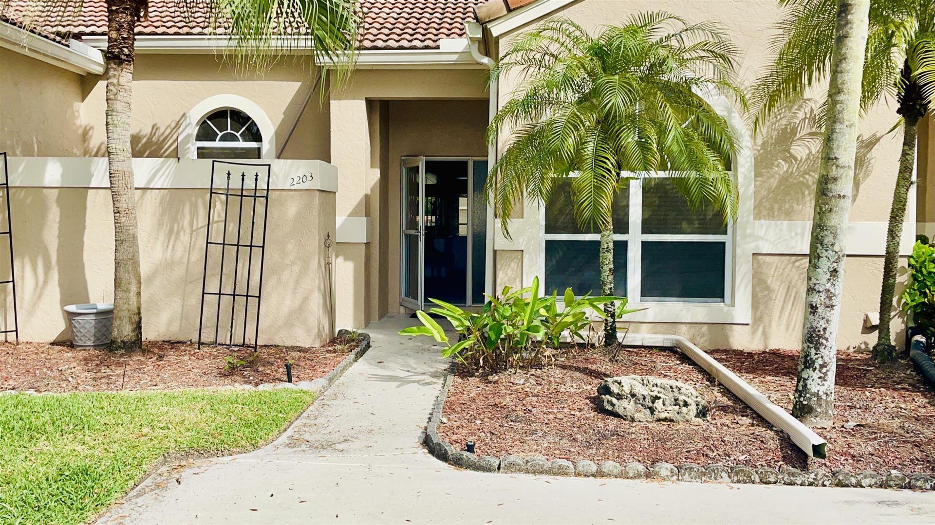 Photo of 2203 Heather Run Terrace, Palm Beach Gardens, FL 33418 (MLS # RX-10731722)