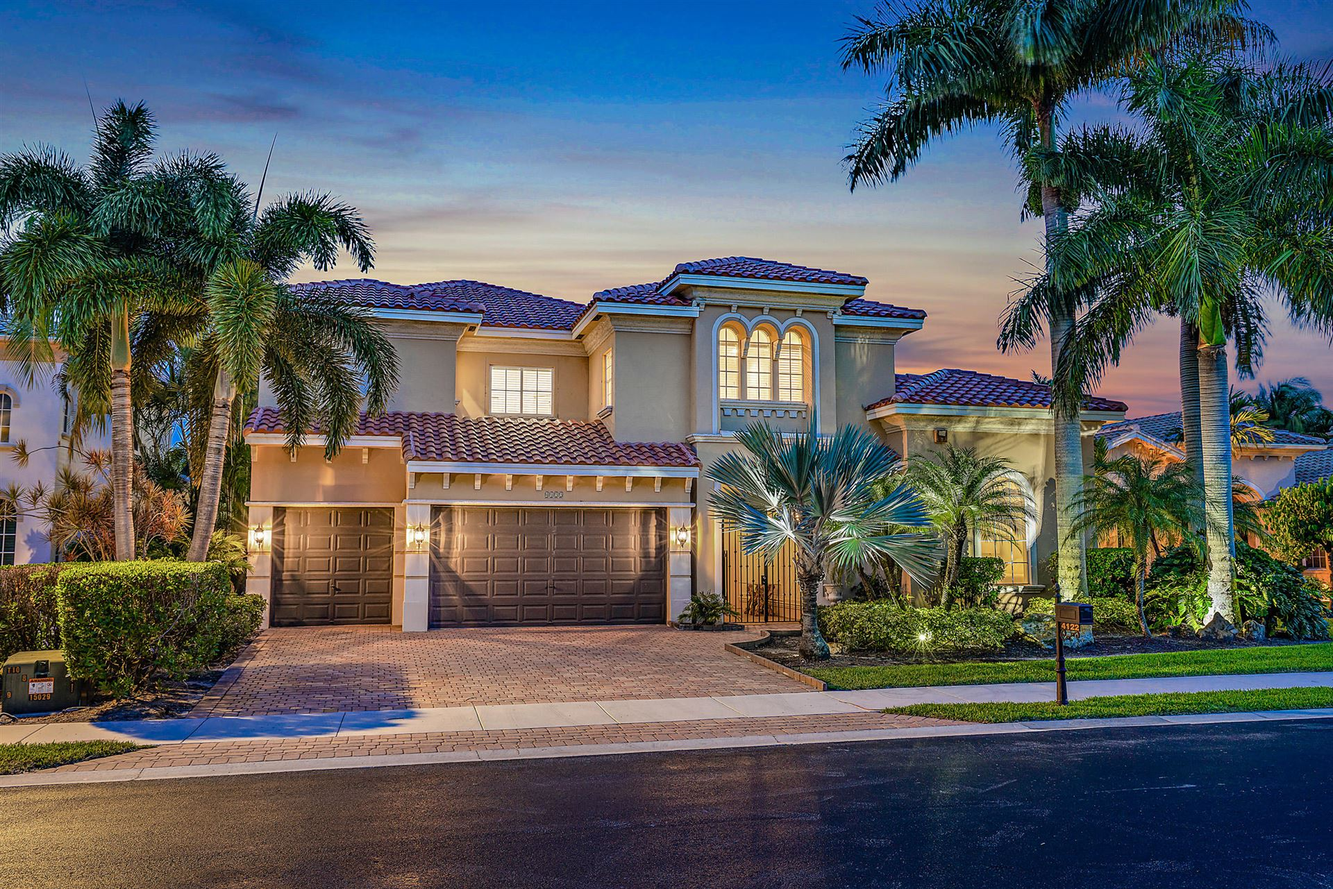 4122 Venetia Way, Palm Beach Gardens, FL 33418 - #: RX-10636724