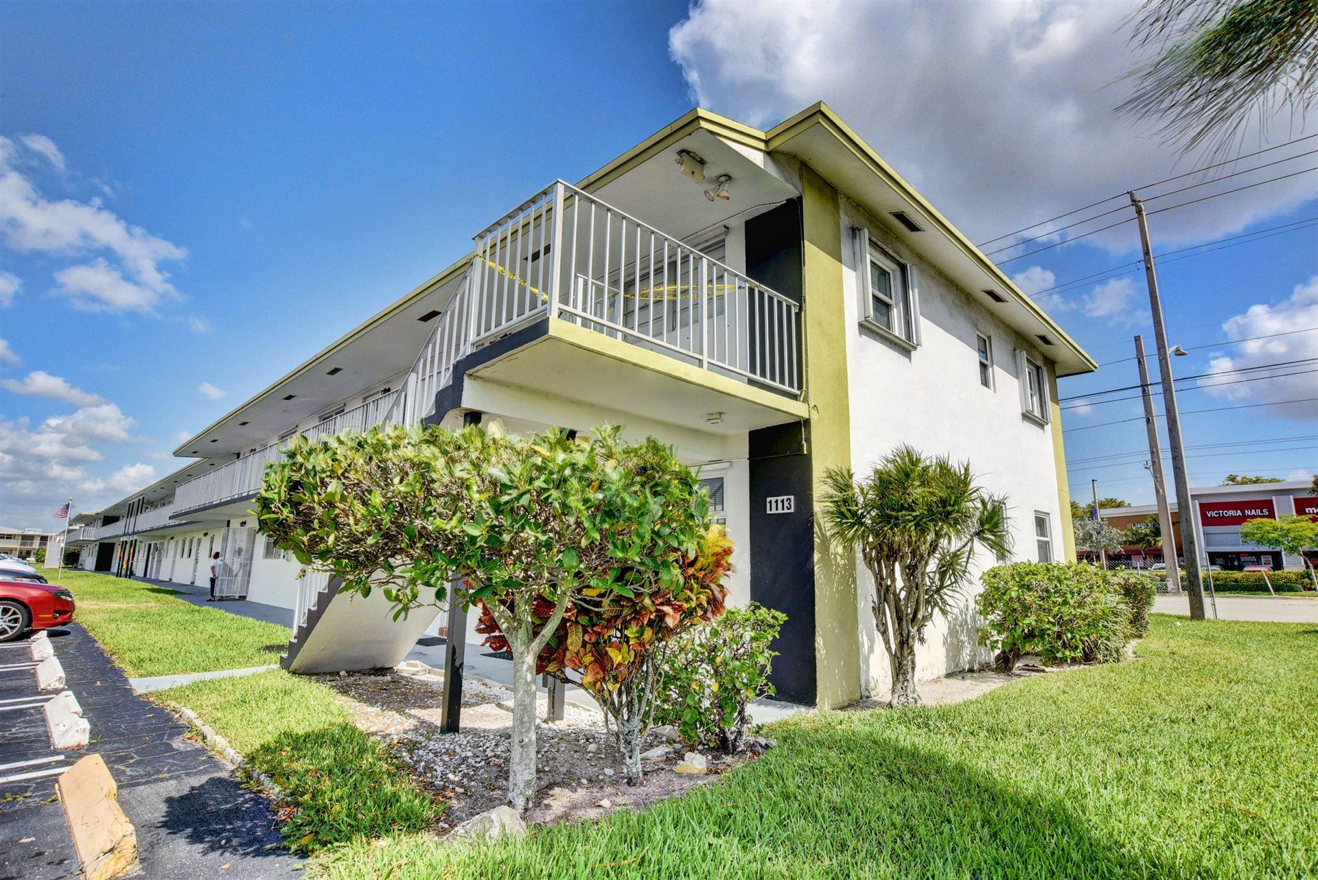 1113 Lake Terrace #110, Boynton Beach, FL 33426 - MLS#: RX-10716724
