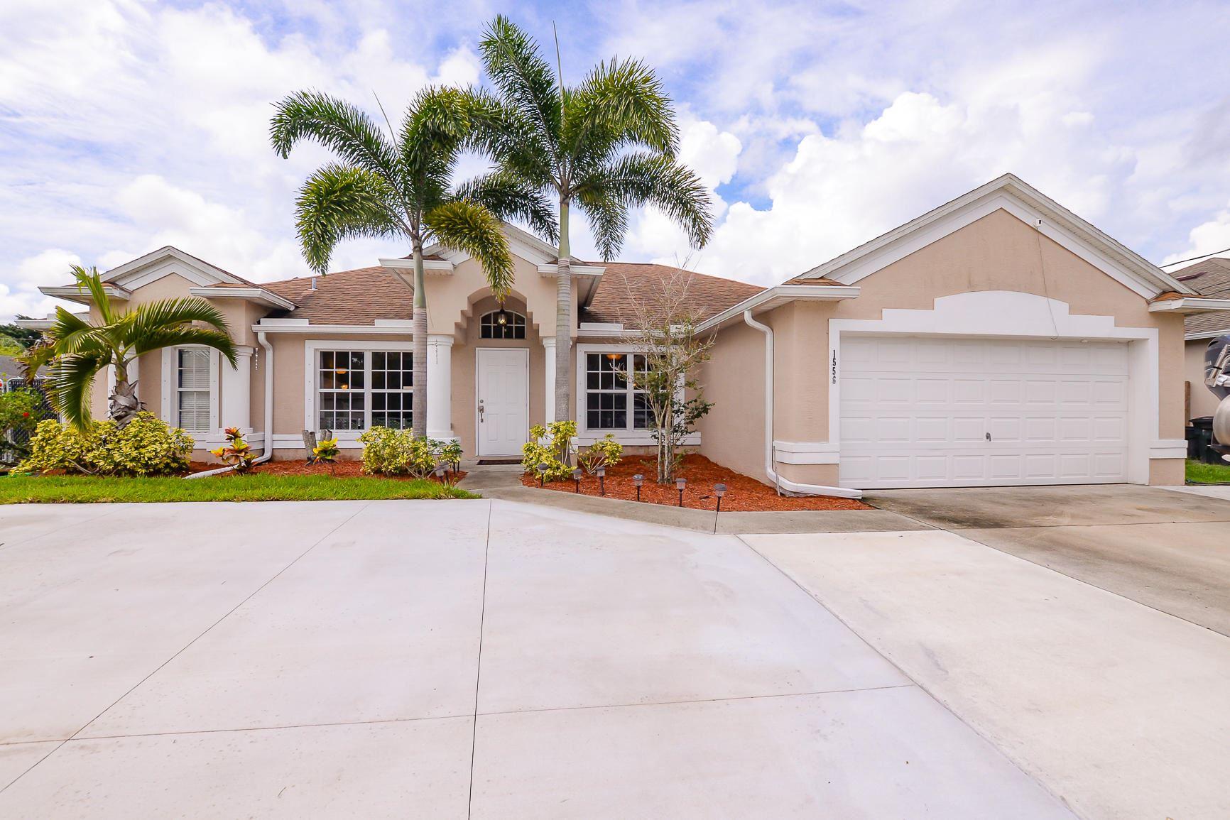 1556 SW Jacqueline Avenue, Port Saint Lucie, FL 34953 - MLS#: RX-10726724