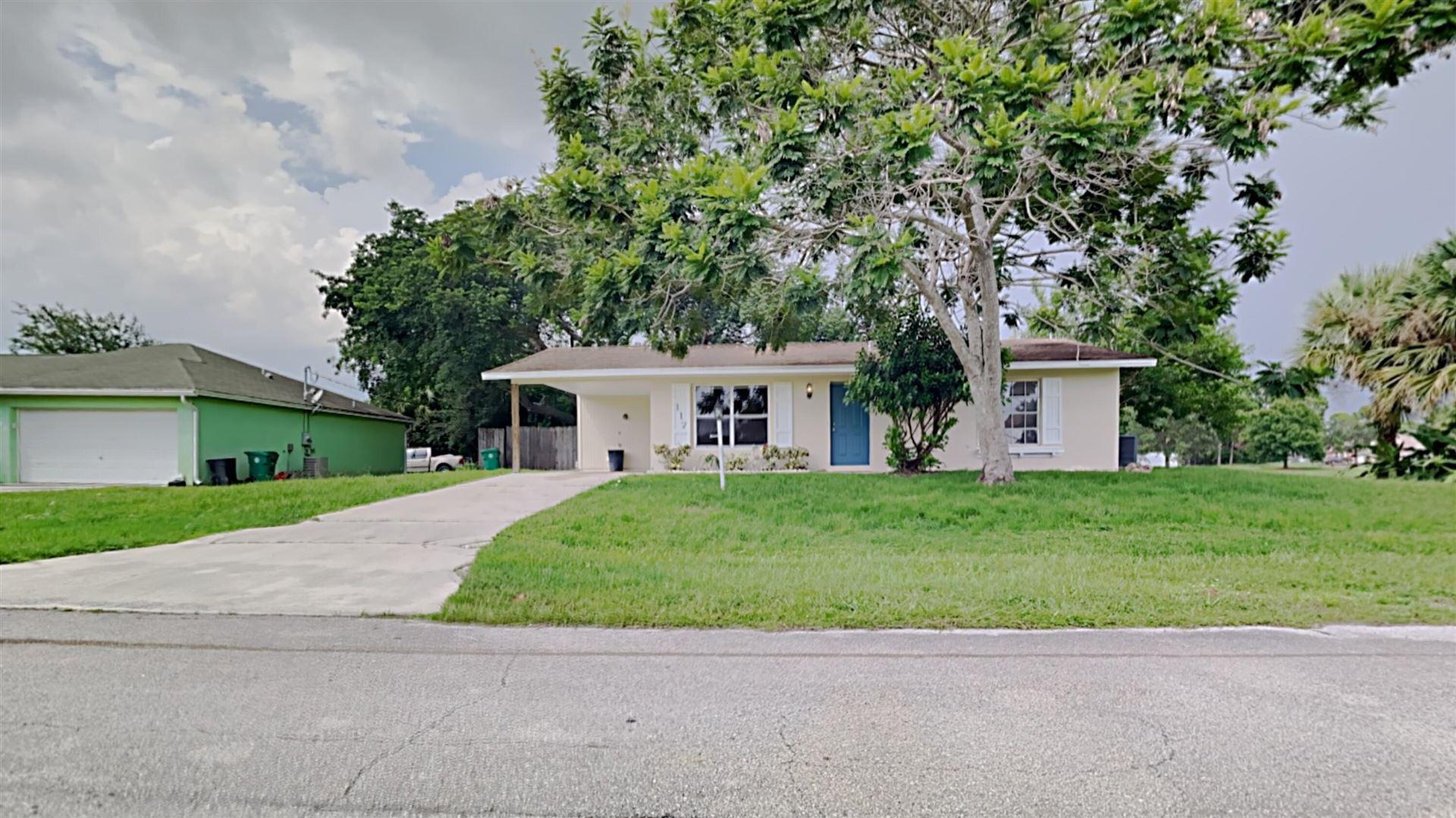 117 SW Ray Avenue, Port Saint Lucie, FL 34953 - #: RX-10744724