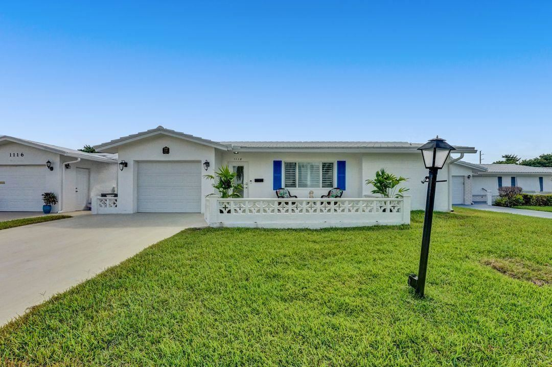1118 Florentine Way, Boynton Beach, FL 33426 - #: RX-10652726