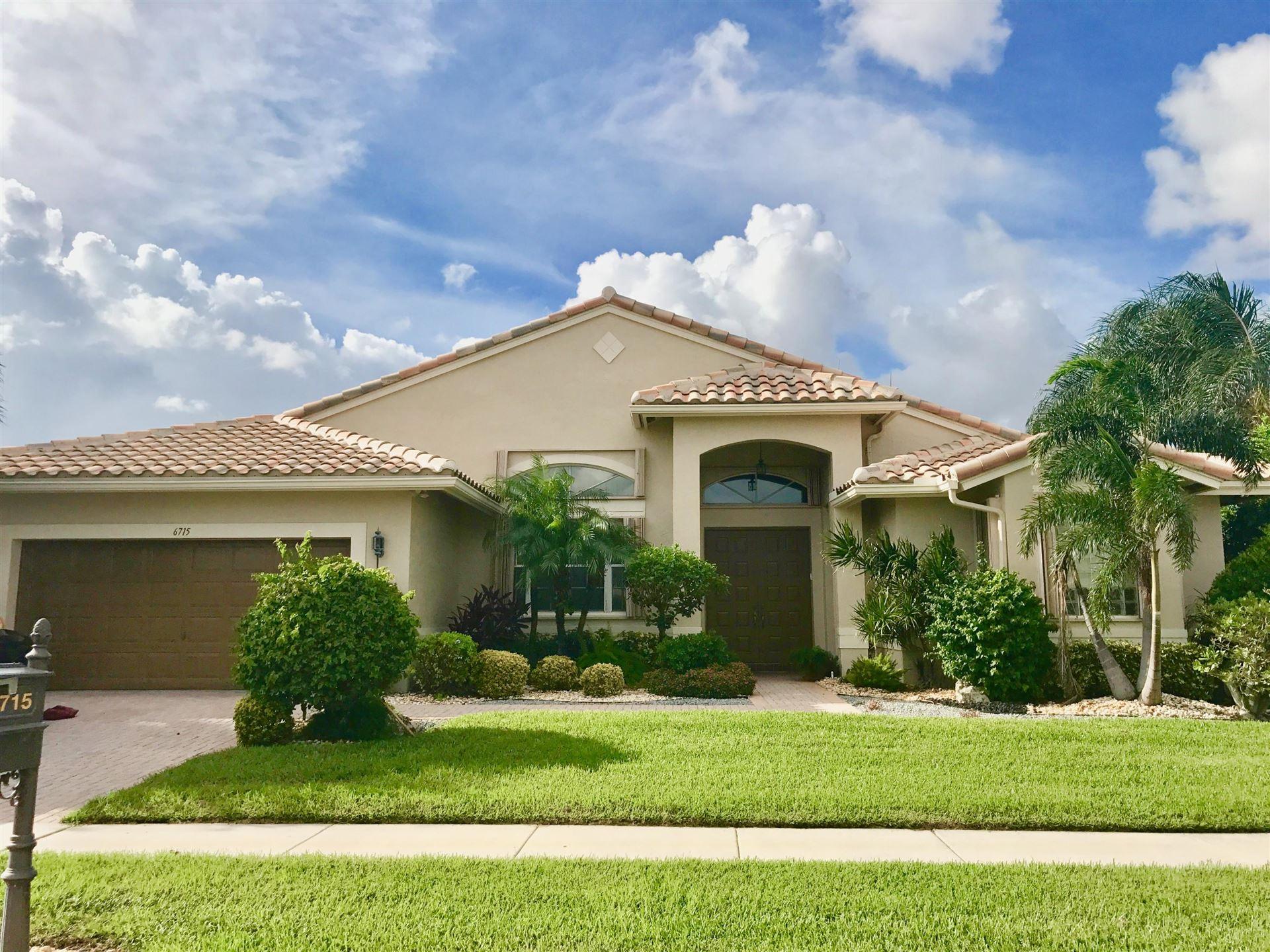 6715 Chimere Terrace, Boynton Beach, FL 33437 - #: RX-10713727