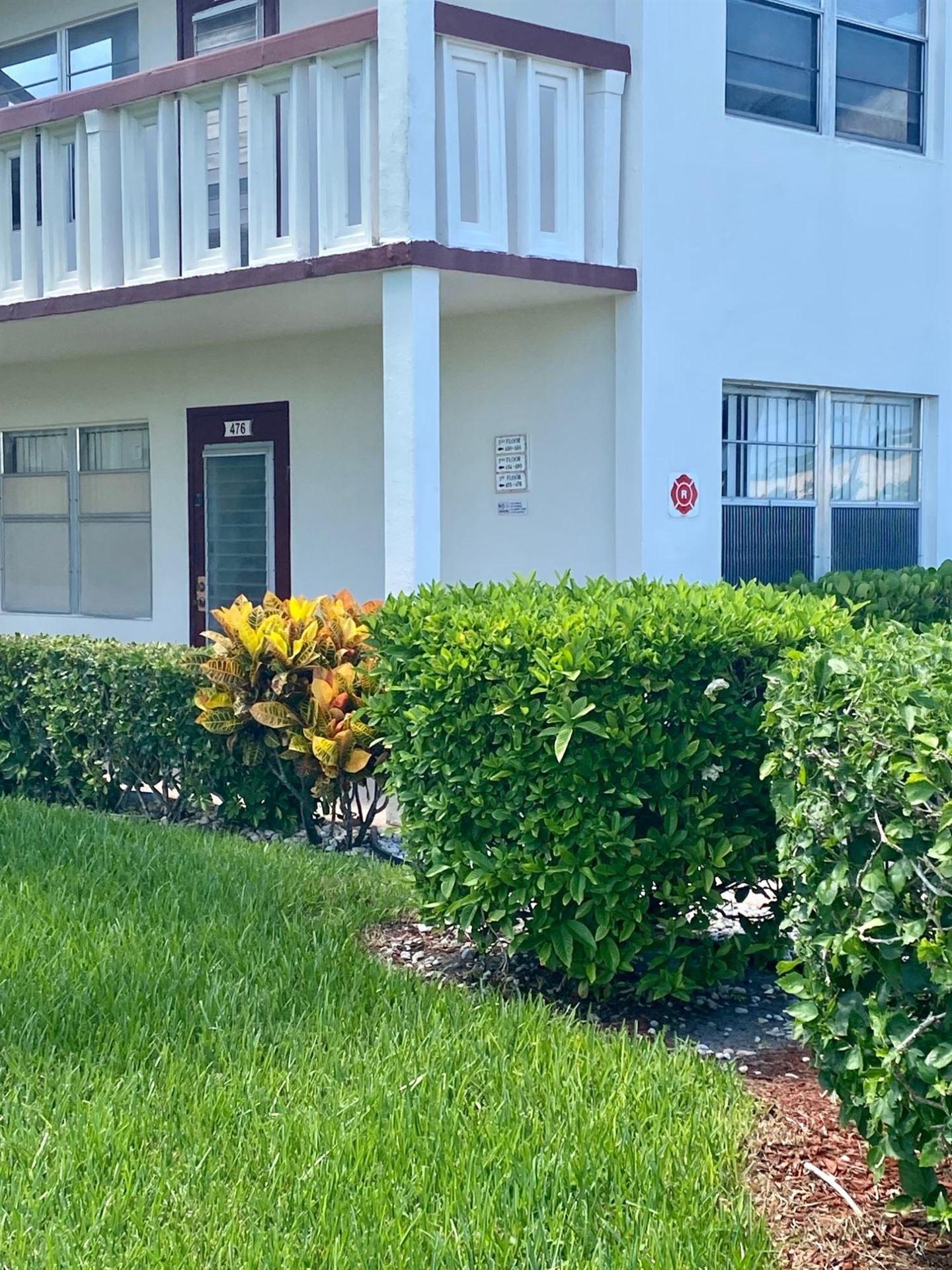 476 Fanshaw L, Boca Raton, FL 33434 - #: RX-10736727