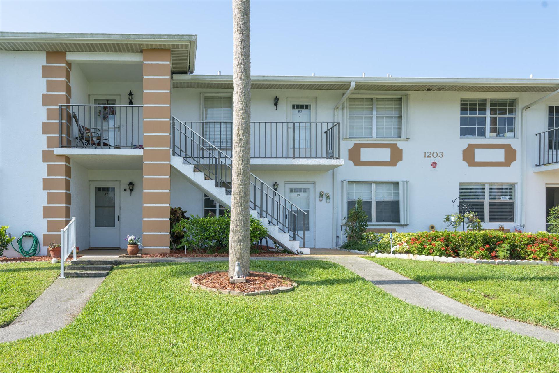 1203 S Lakes End Drive #B1, Fort Pierce, FL 34982 - #: RX-10626728