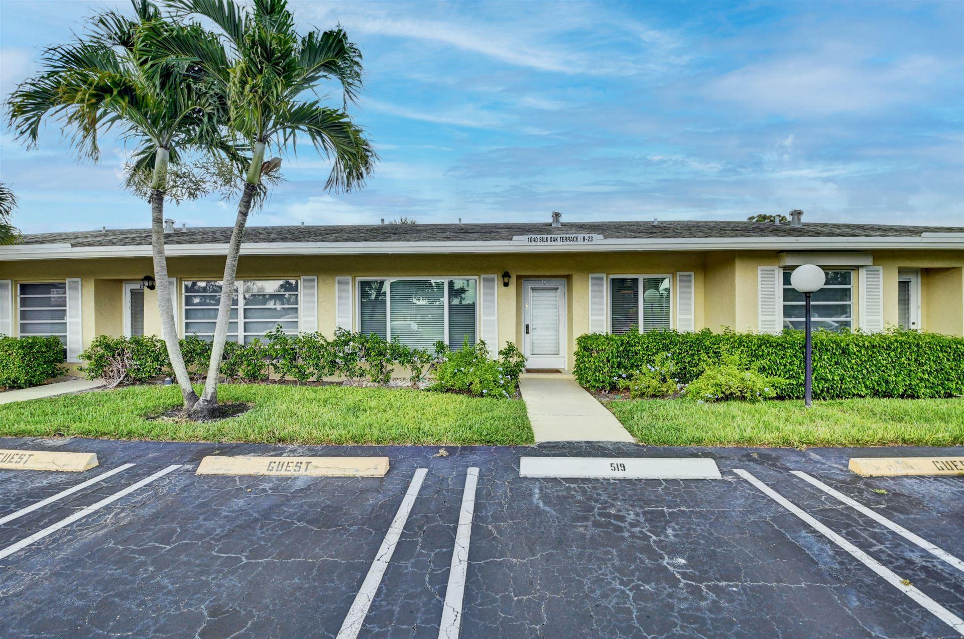 1040 Silk Oak Ter Terrace #23-C, Delray Beach, FL 33445 - MLS#: RX-10733728