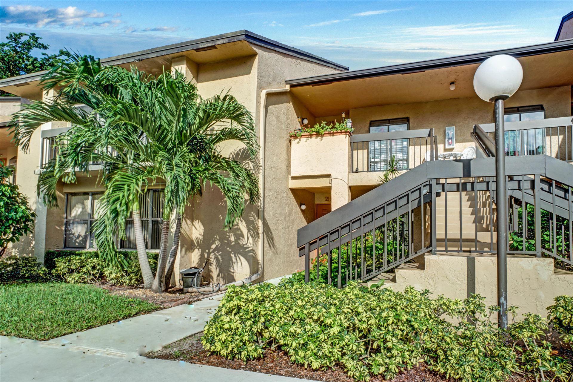 Photo of 5055 Oak Hill Lane #223, Delray Beach, FL 33484 (MLS # RX-10675729)