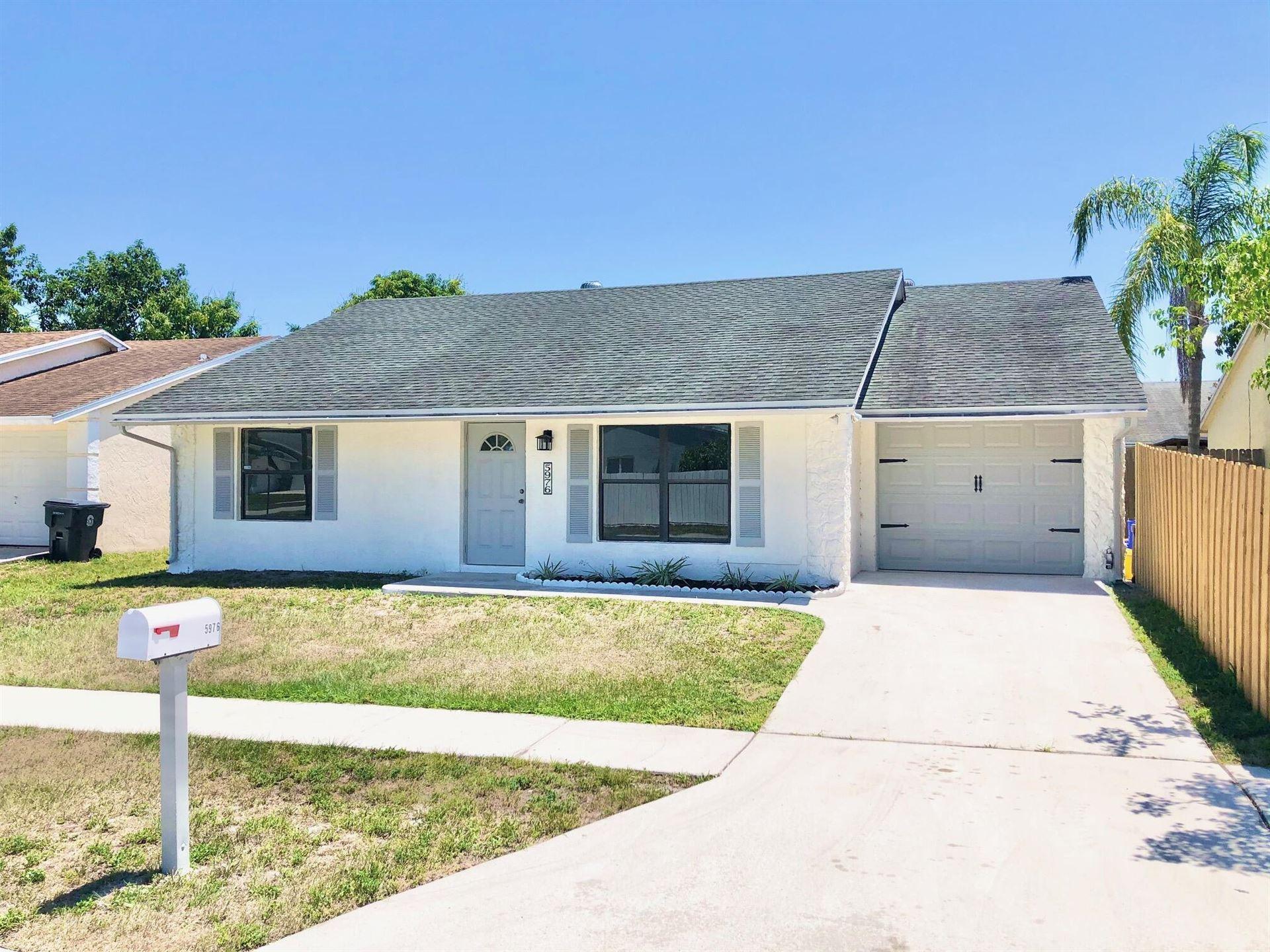 5976 Corson Place, Lake Worth, FL 33463 - MLS#: RX-10713729