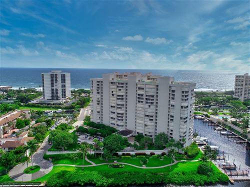 Photo of 4201 N Ocean Boulevard #1608, Boca Raton, FL 33431 (MLS # RX-10662732)