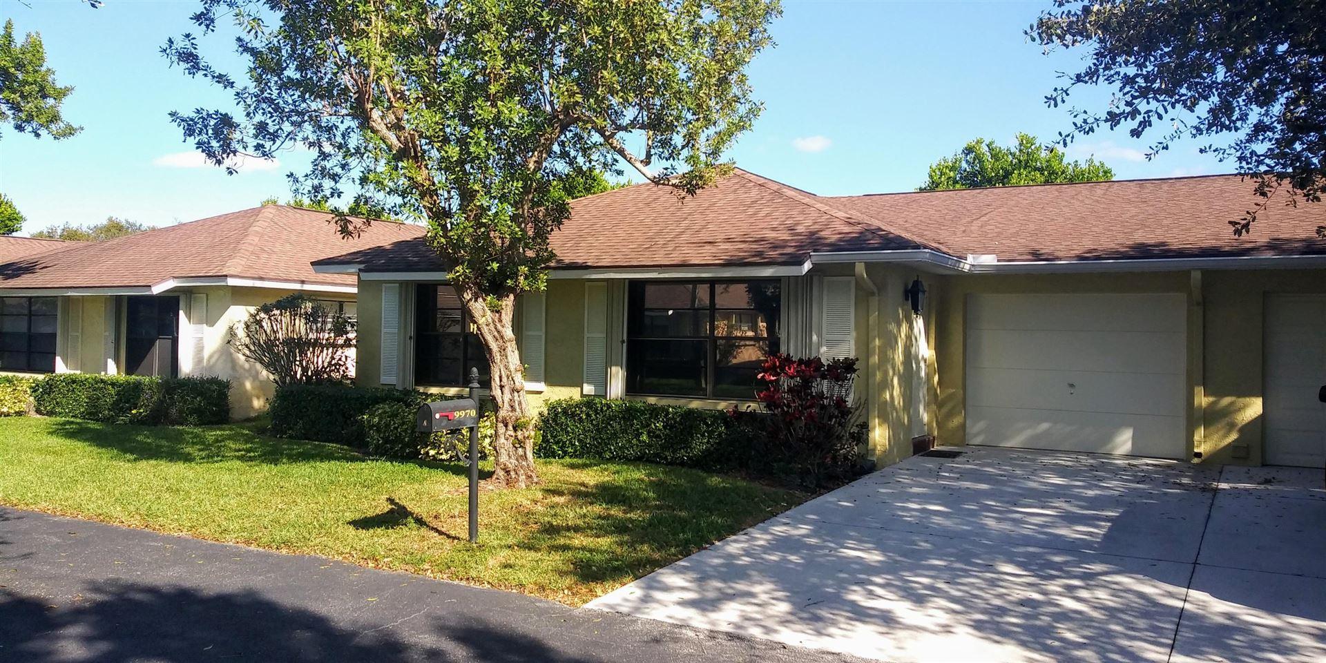 9970 Ligustrum Tree Way #A, Boynton Beach, FL 33436 - #: RX-10585732