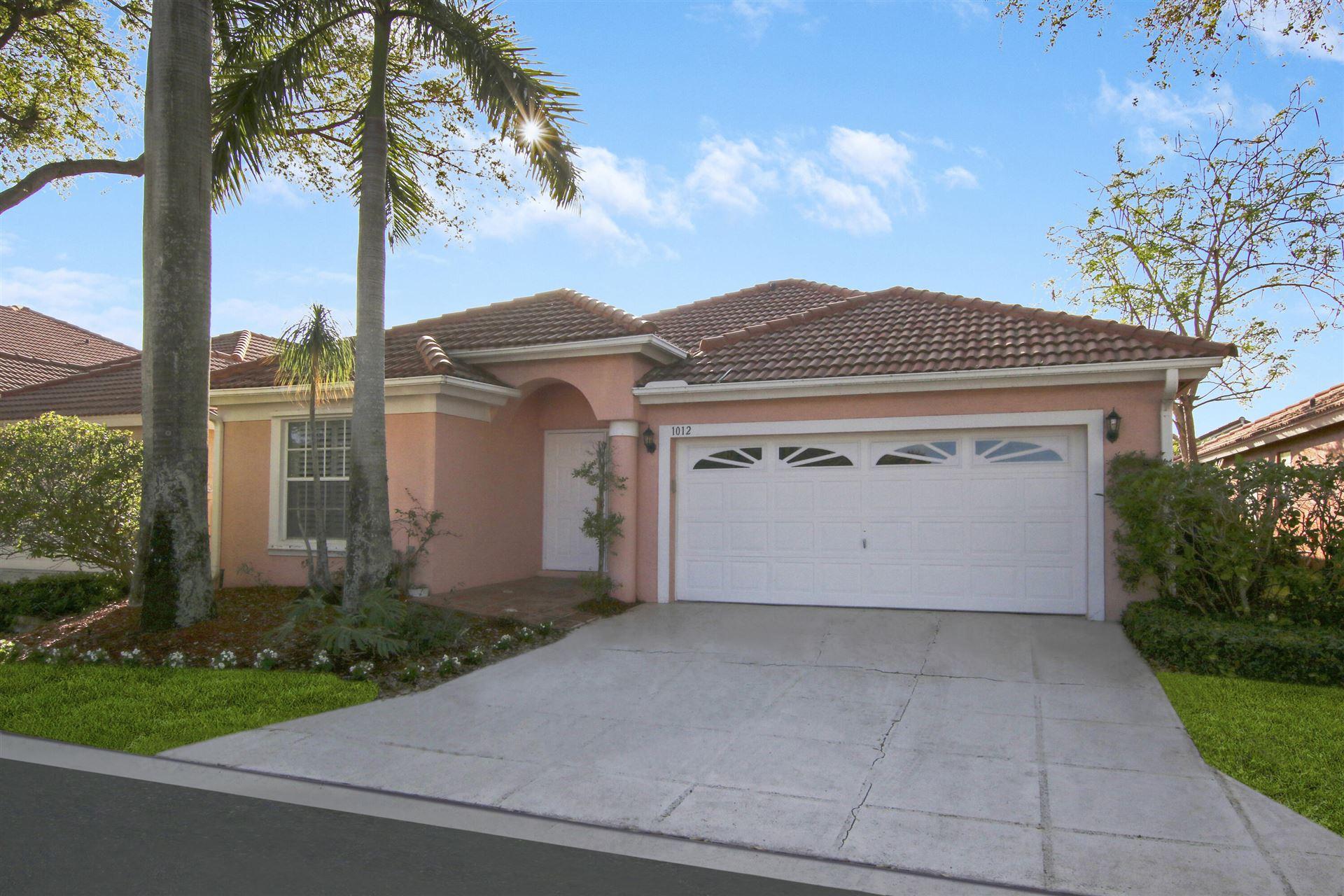 1012 Aspri Way, Riviera Beach, FL 33418 - #: RX-10693732