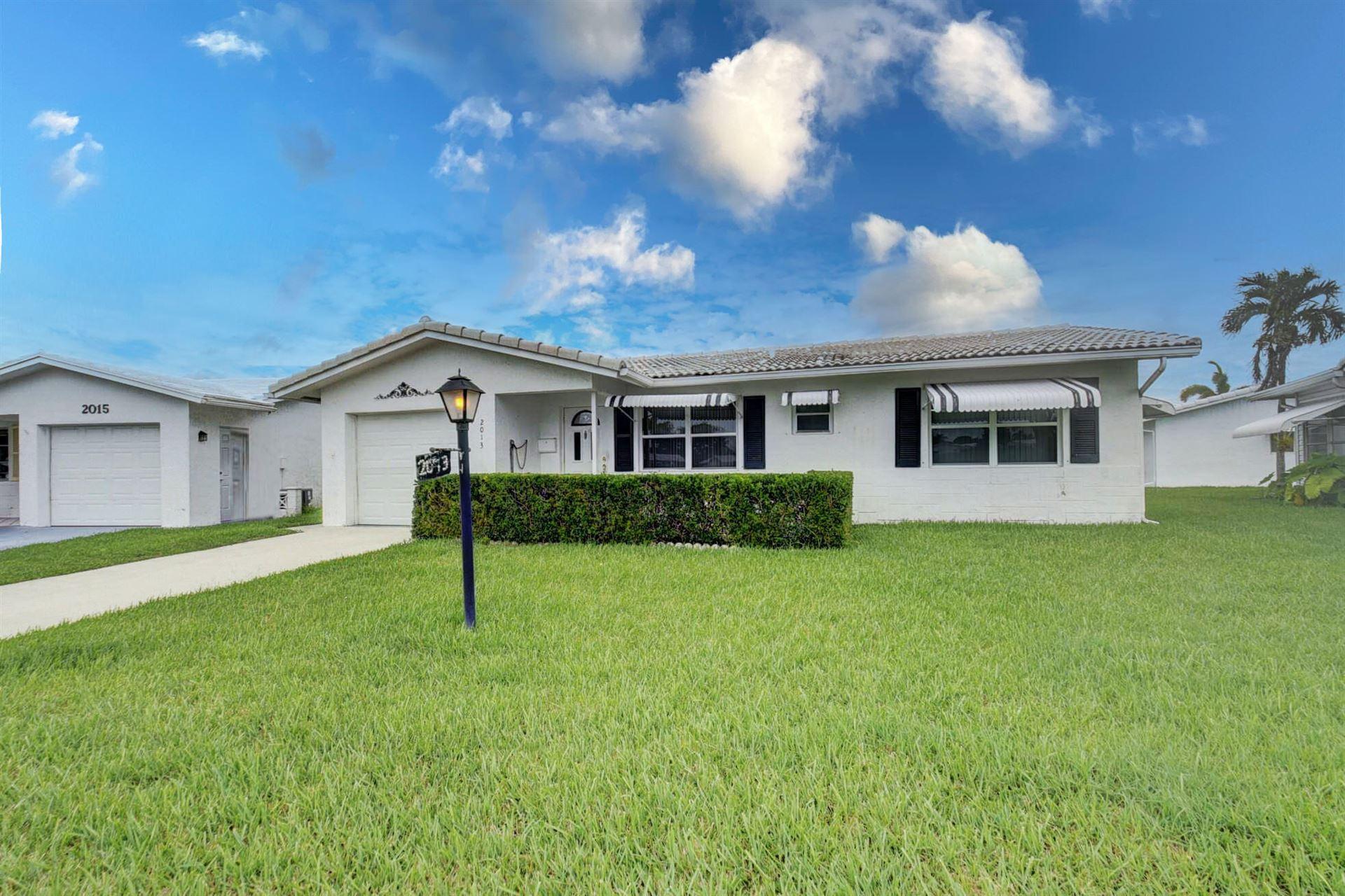 2013 Vastine Drive, Boynton Beach, FL 33426 - MLS#: RX-10728732