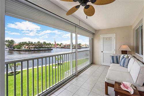 Photo of 3100 S Ocean Boulevard #308, Highland Beach, FL 33487 (MLS # RX-10632733)