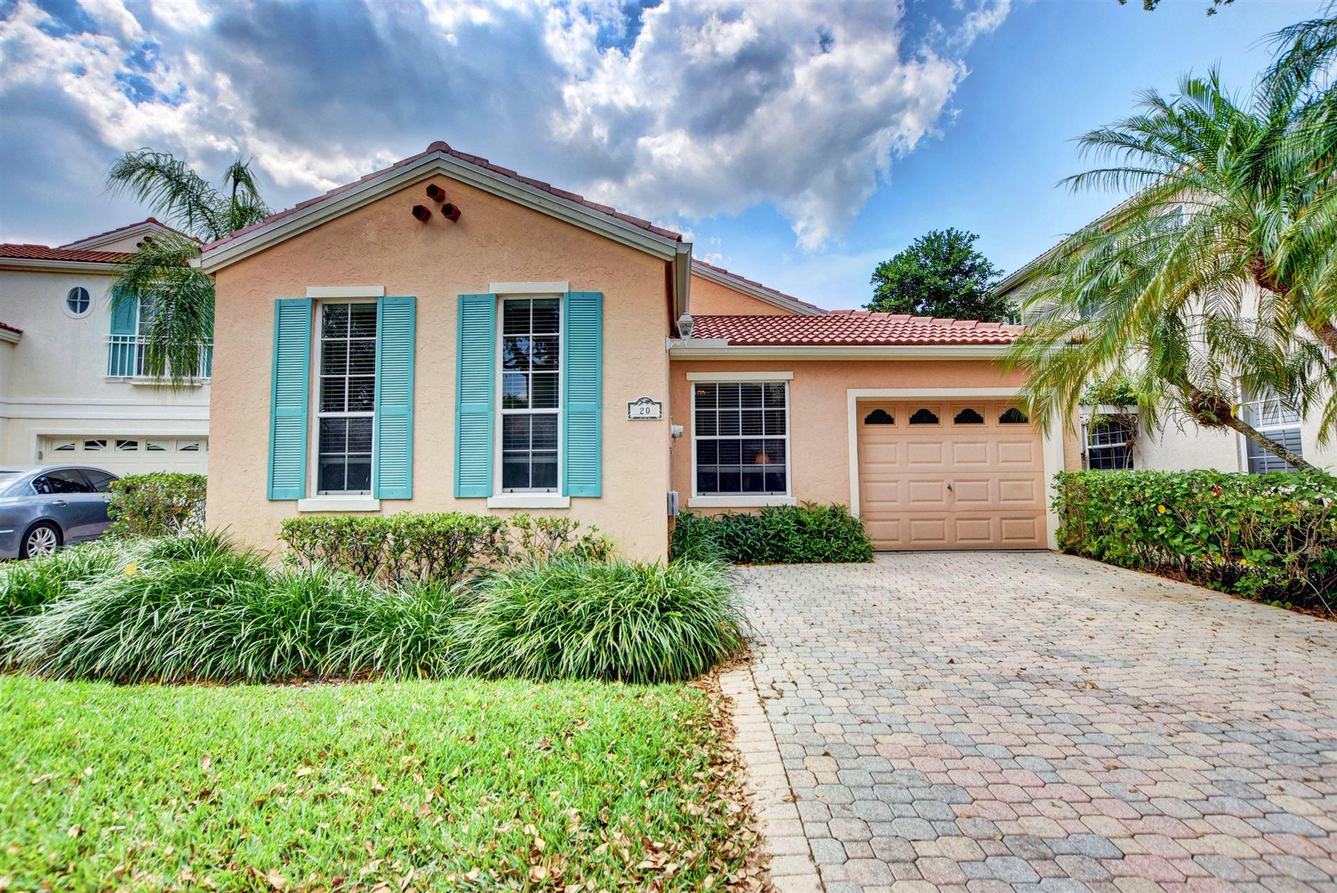 20 Via Aurelia, Palm Beach Gardens, FL 33418 - #: RX-10612733