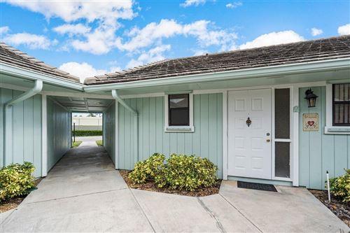 Photo of 1127 E Seminole Avenue #32a, Jupiter, FL 33477 (MLS # RX-10752734)