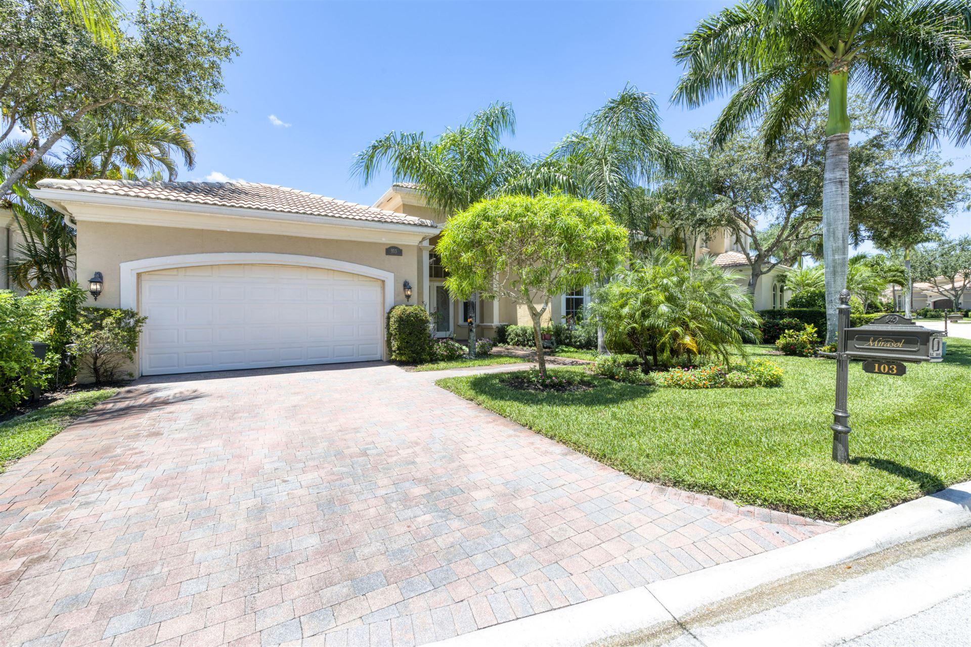 103 Dalena Way, Palm Beach Gardens, FL 33418 - #: RX-10644734