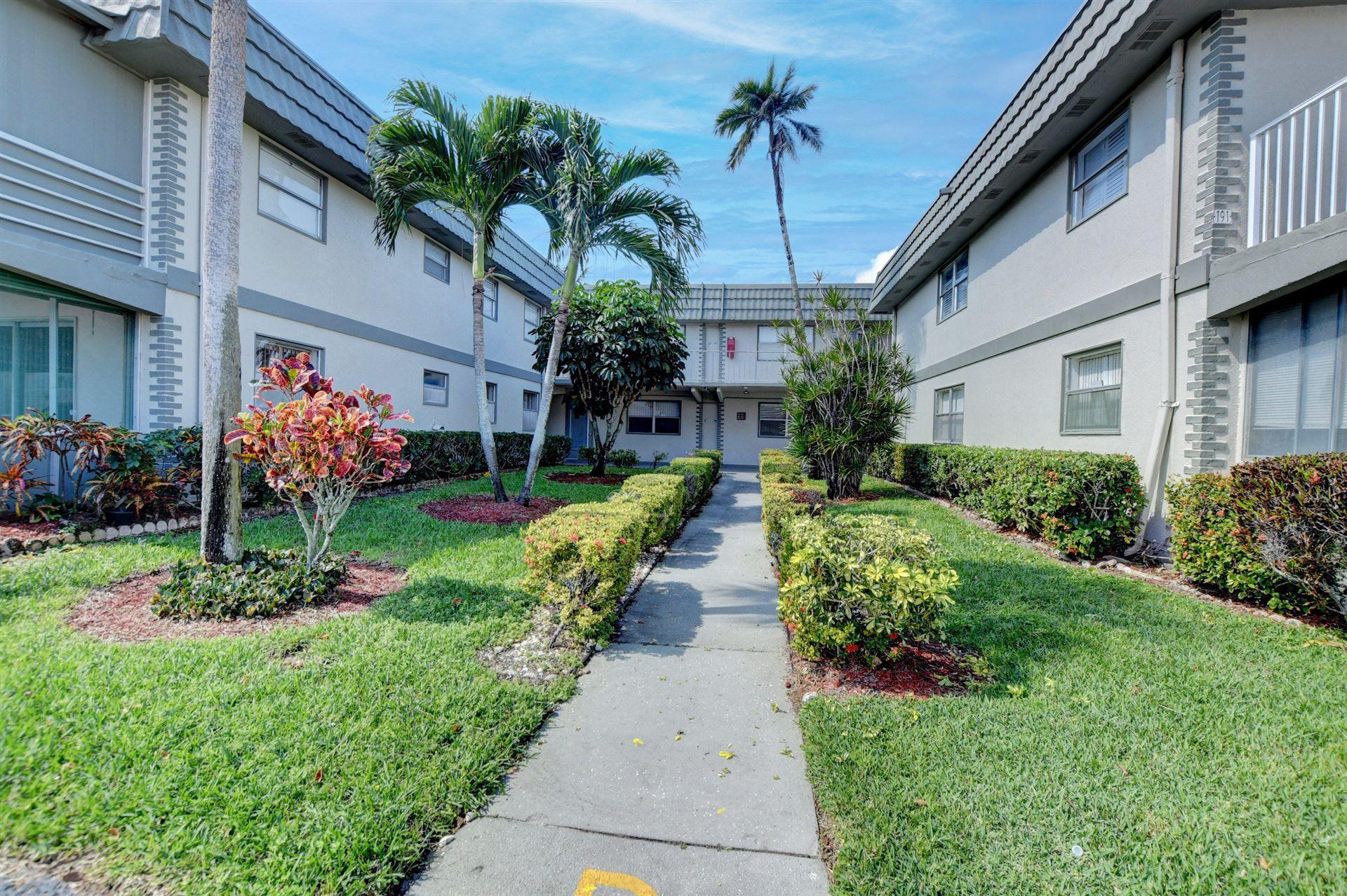 166 Brittany D, Delray Beach, FL 33446 - MLS#: RX-10694734