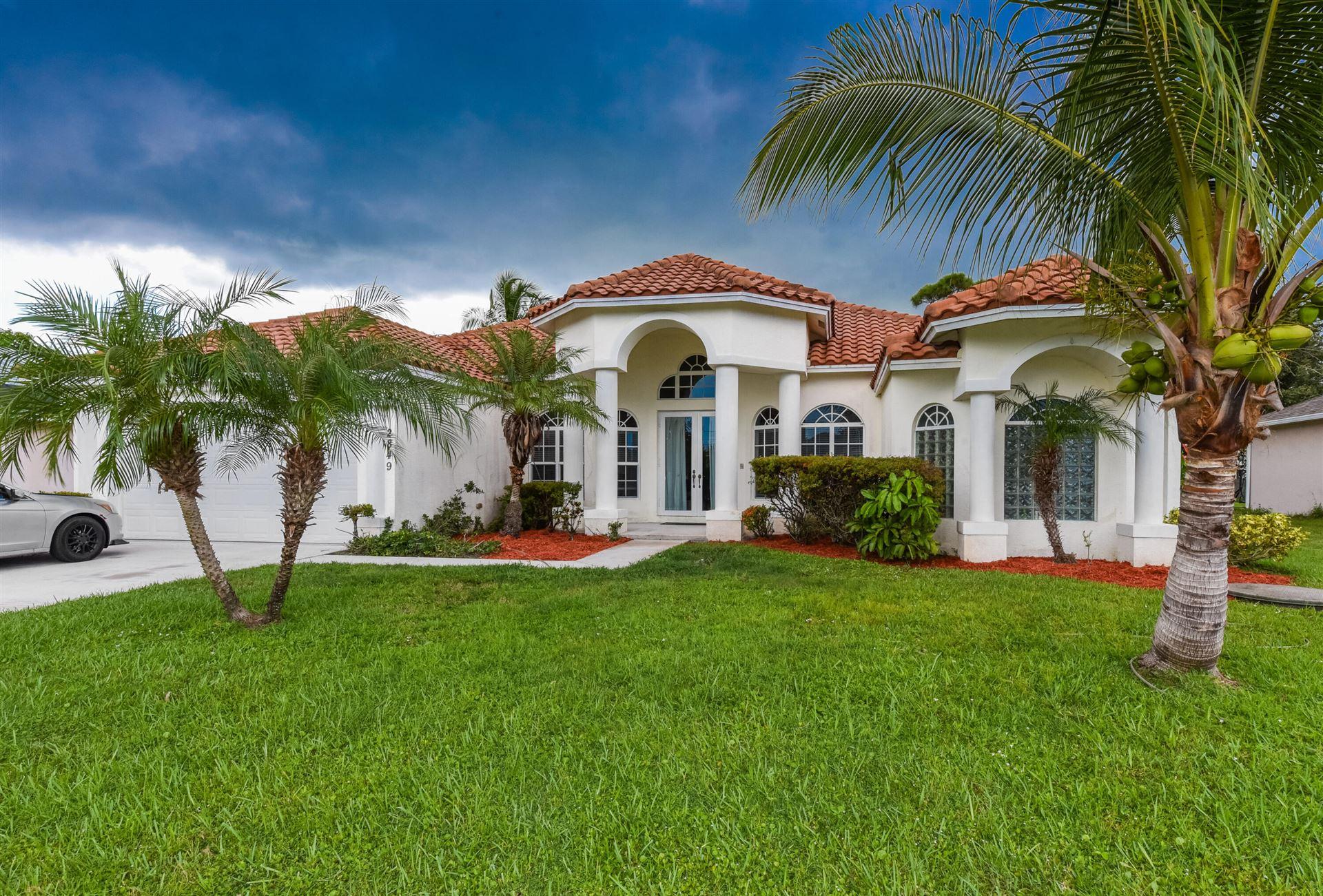 2849 SE Buccaneer Circle, Port Saint Lucie, FL 34952 - MLS#: RX-10747734