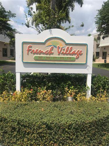 Photo of 775 Jeffery Street #104, Boca Raton, FL 33487 (MLS # RX-10708735)