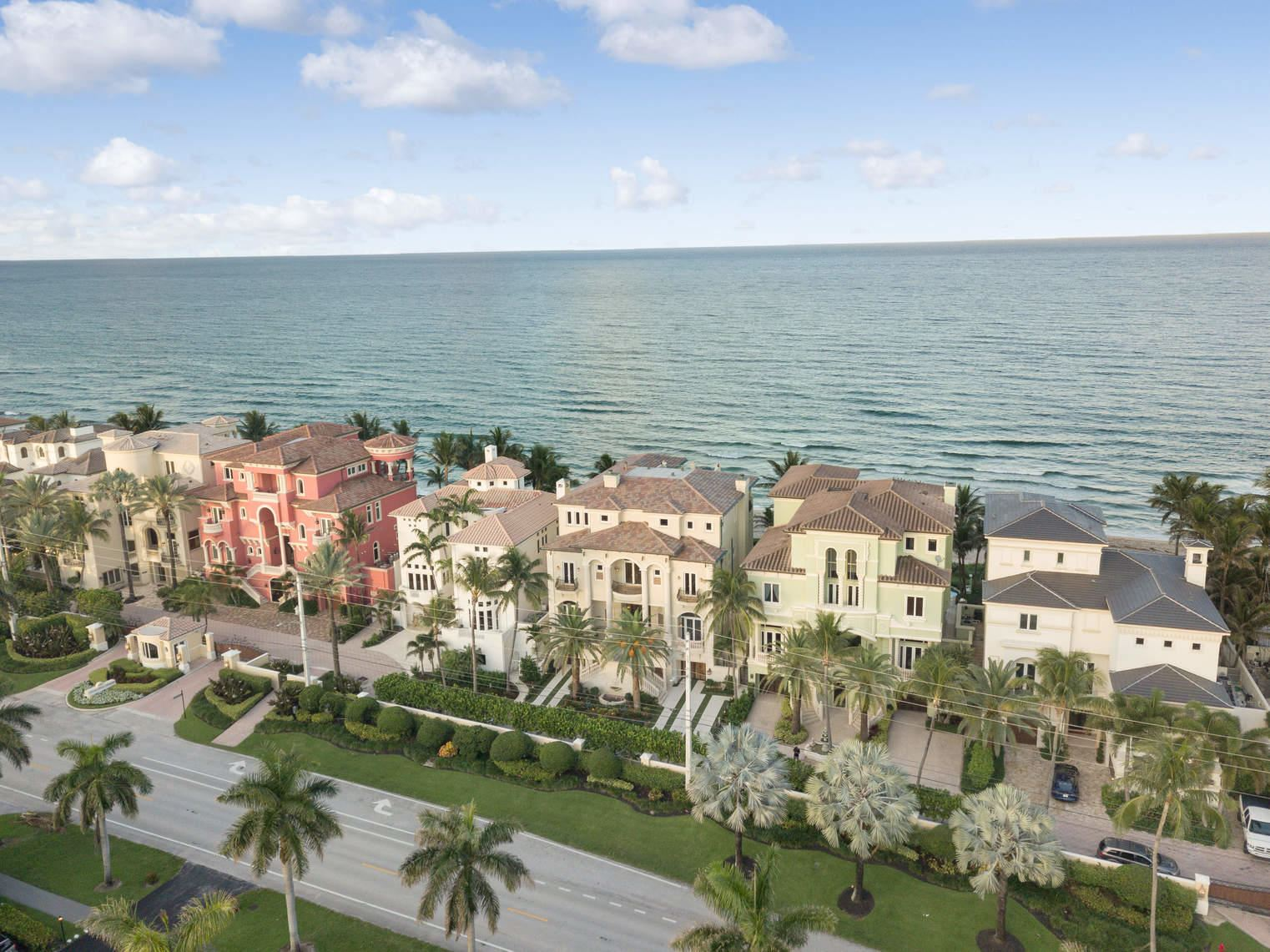 Photo of 8 Ocean Place, Highland Beach, FL 33487 (MLS # RX-10630735)