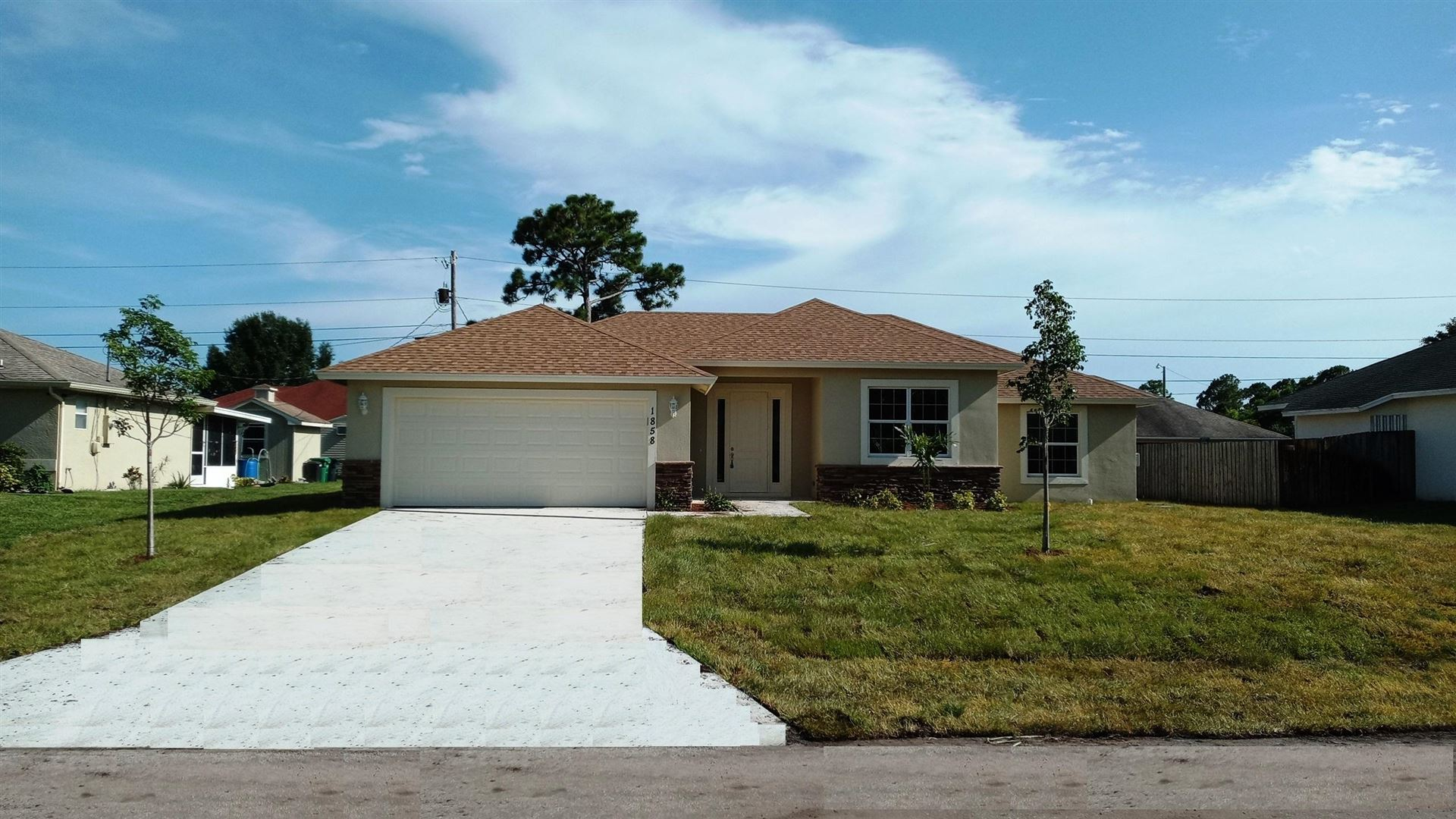 1858 SW Whipple Avenue, Port Saint Lucie, FL 34953 - #: RX-10734735