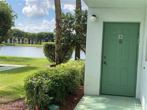 Photo of 15365 Lakes Of Delray Boulevard #101, Delray Beach, FL 33484 (MLS # RX-10752736)