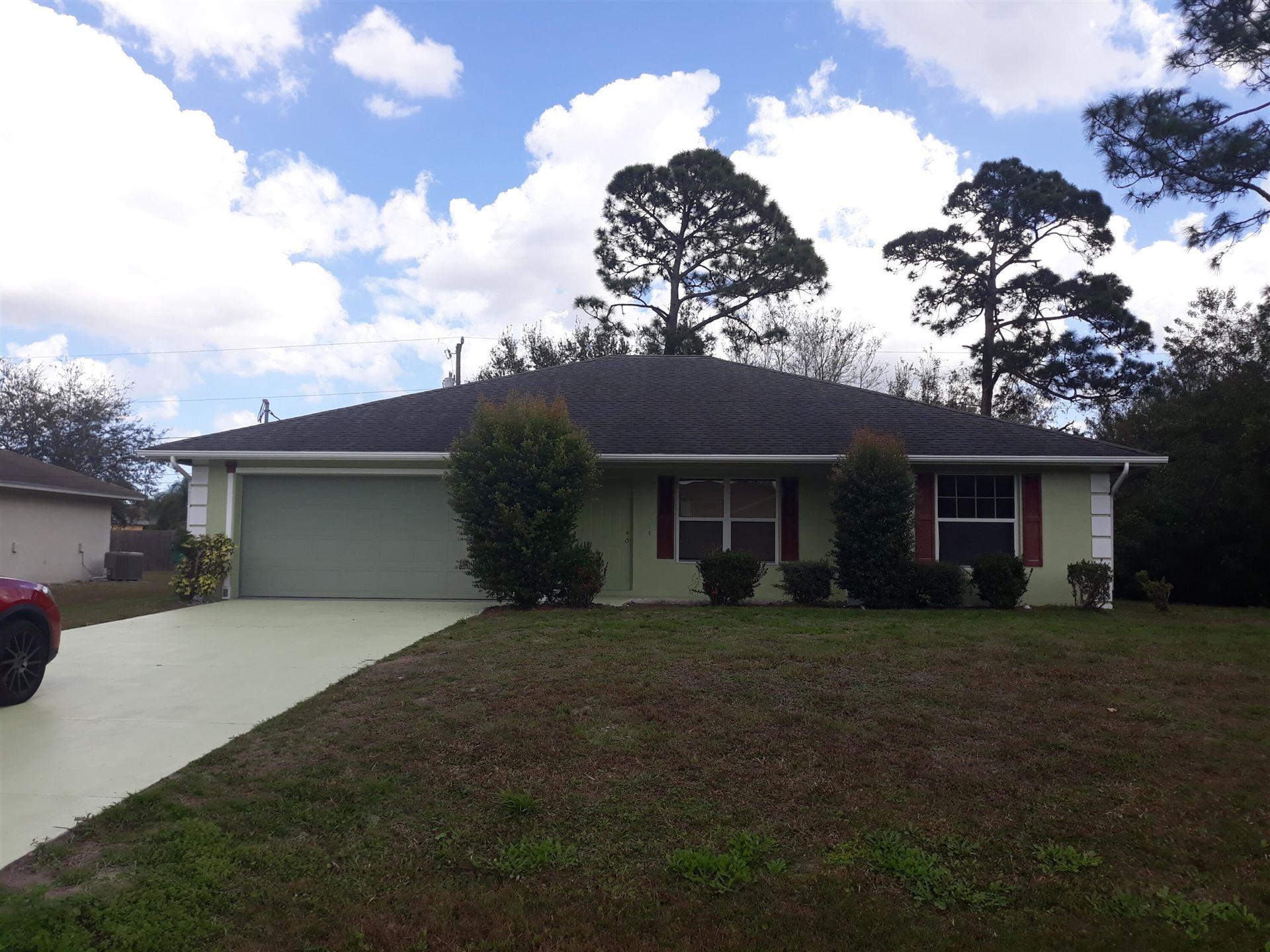 3125 SW Blackmur Street, Port Saint Lucie, FL 34953 - #: RX-10692736