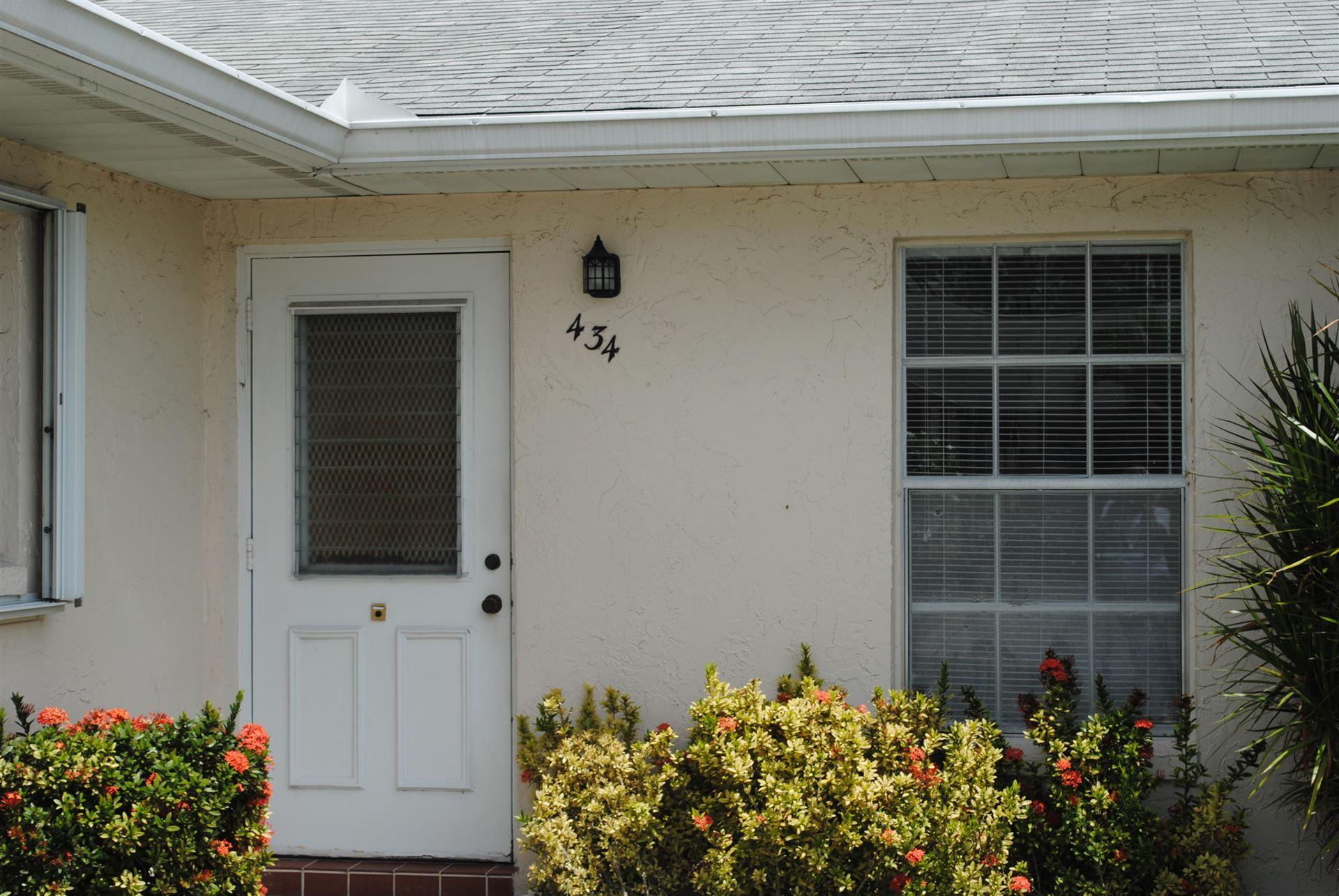 434 Bennington Lane, Lake Worth, FL 33467 - MLS#: RX-10710736