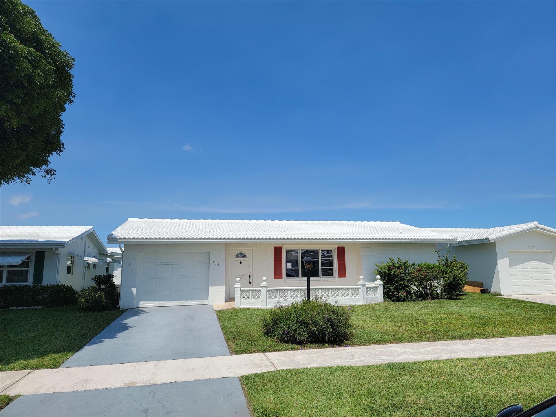 716 SW 18th Street, Boynton Beach, FL 33426 - MLS#: RX-10712736