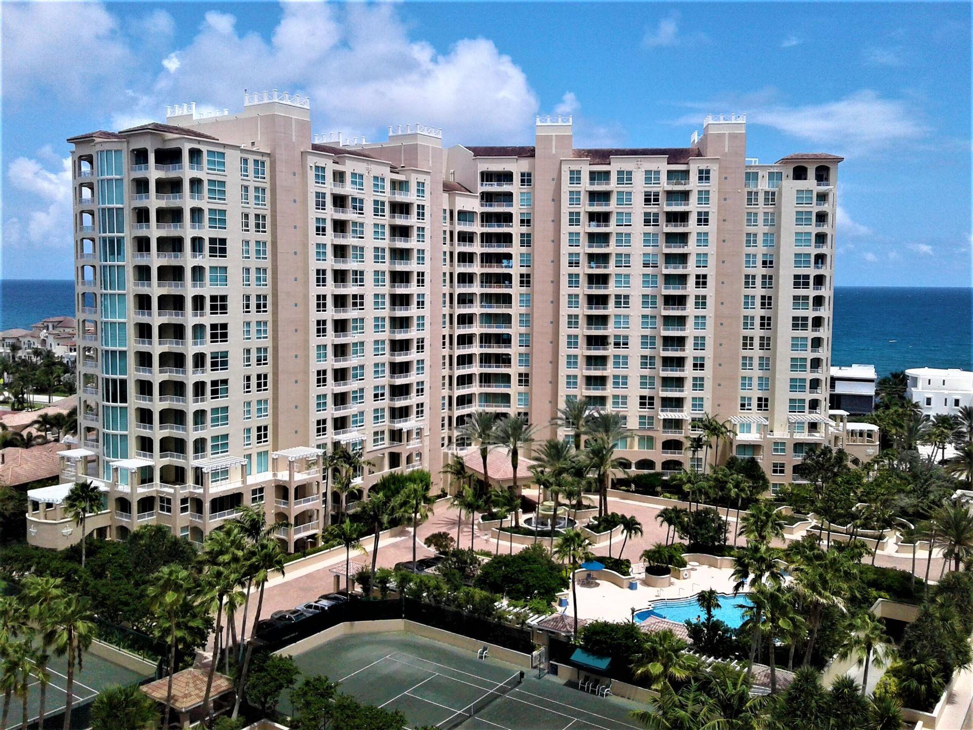 3700 S Ocean Boulevard #302, Highland Beach, FL 33487 - MLS#: RX-10716736