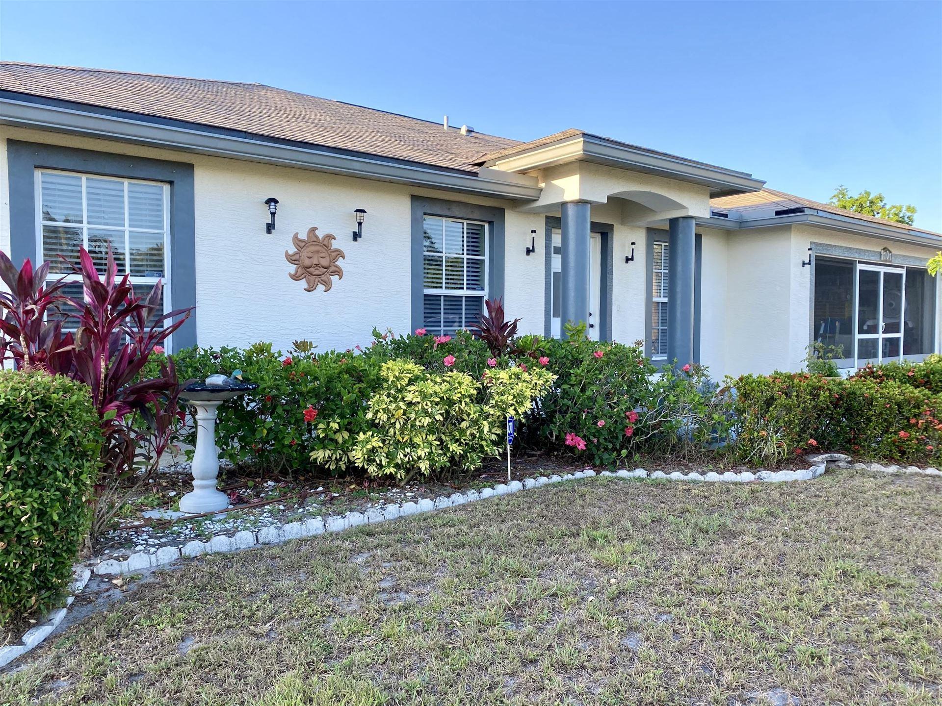 707 NW Floresta Drive, Port Saint Lucie, FL 34983 - MLS#: RX-10719736
