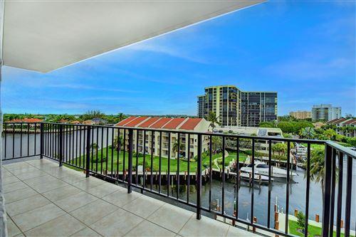 Photo of 4750 S Ocean Boulevard #603, Highland Beach, FL 33487 (MLS # RX-10725738)