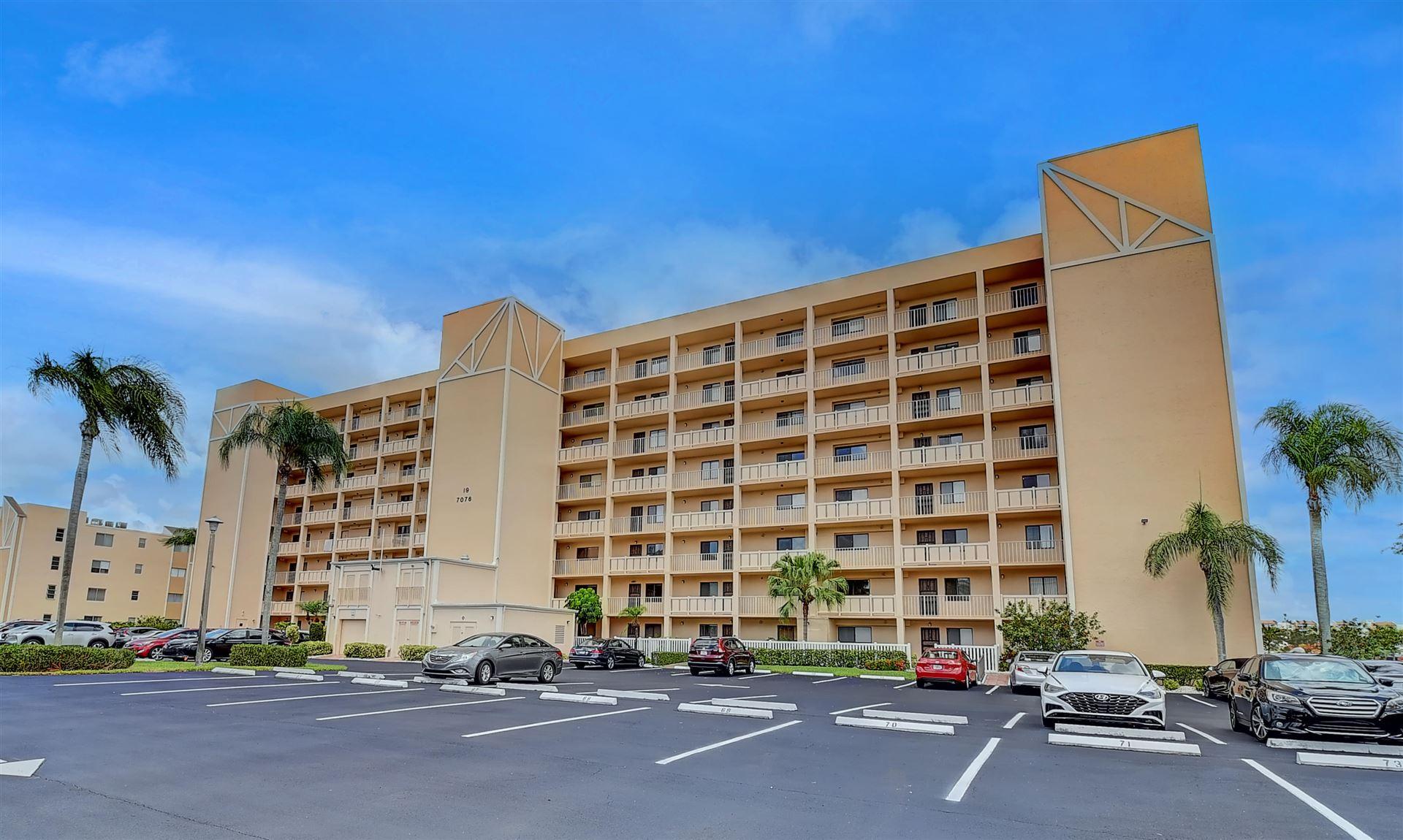 7076 Huntington Lane #802, Delray Beach, FL 33446 - MLS#: RX-10722738
