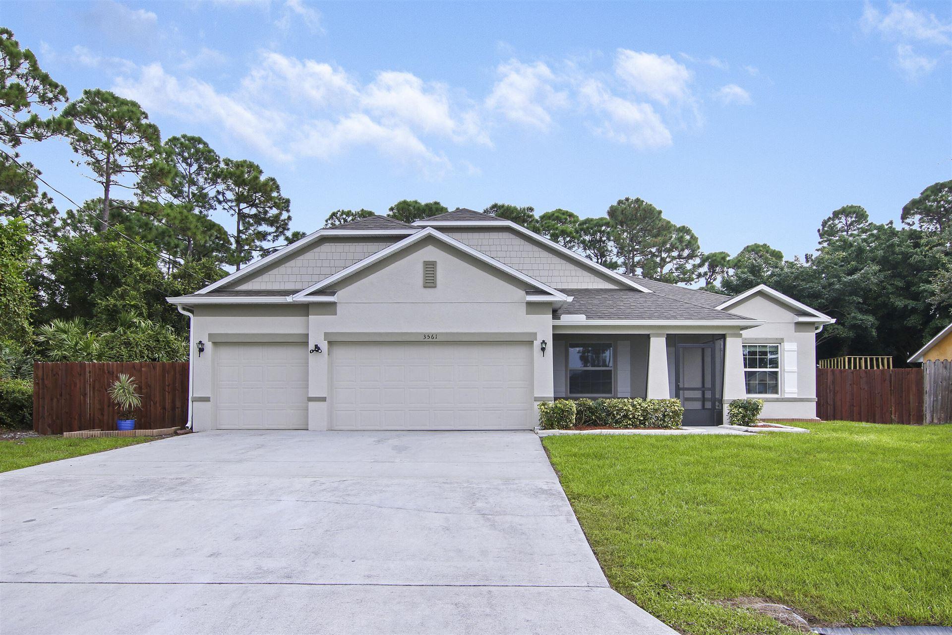 3561 SW Europe Street, Port Saint Lucie, FL 34953 - MLS#: RX-10750744