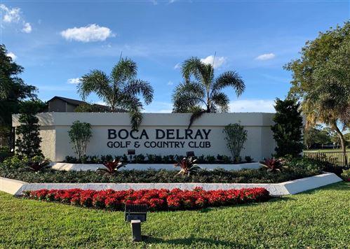 Photo of 5121 Oak Hill Lane #421, Delray Beach, FL 33484 (MLS # RX-10667745)
