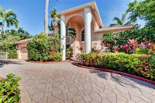 Photo of 9342 Aqua Vista Boulevard, Boynton Beach, FL 33437 (MLS # RX-10694745)