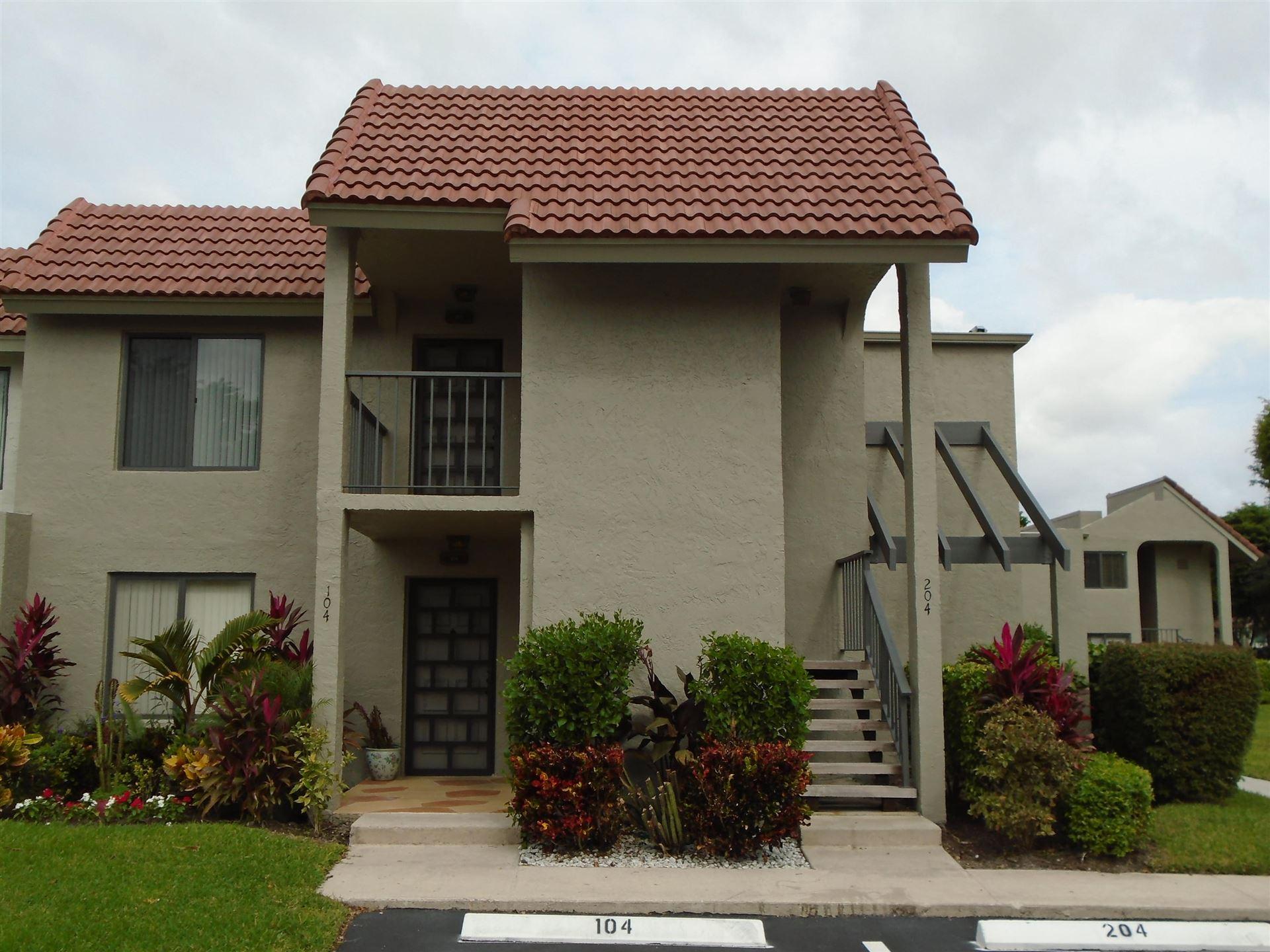 5780 Fairway Park Court #204, Boynton Beach, FL 33437 - #: RX-10676745
