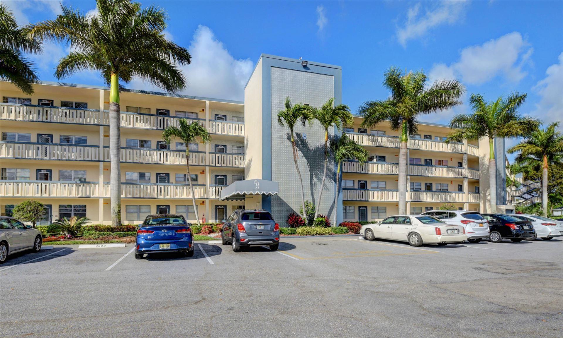 4027 Yarmouth B, Boca Raton, FL 33434 - #: RX-10611746
