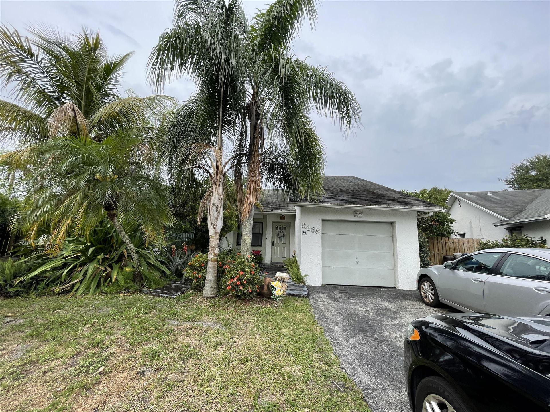 9468 NW 45 Street, Sunrise, FL 33351 - MLS#: RX-10709746