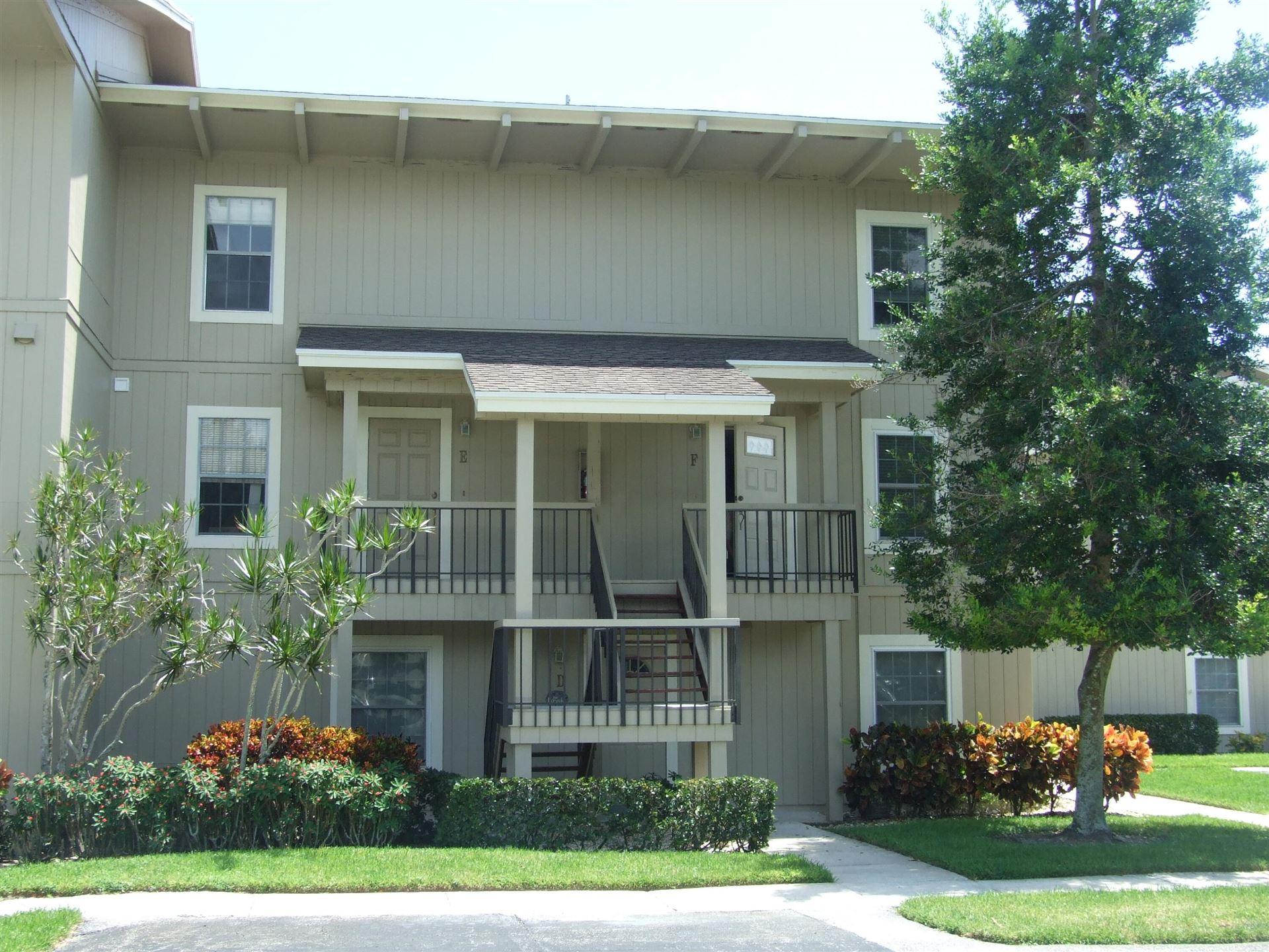 Photo for 18449 SE Wood Haven Lane #F, Tequesta, FL 33469 (MLS # RX-10745748)