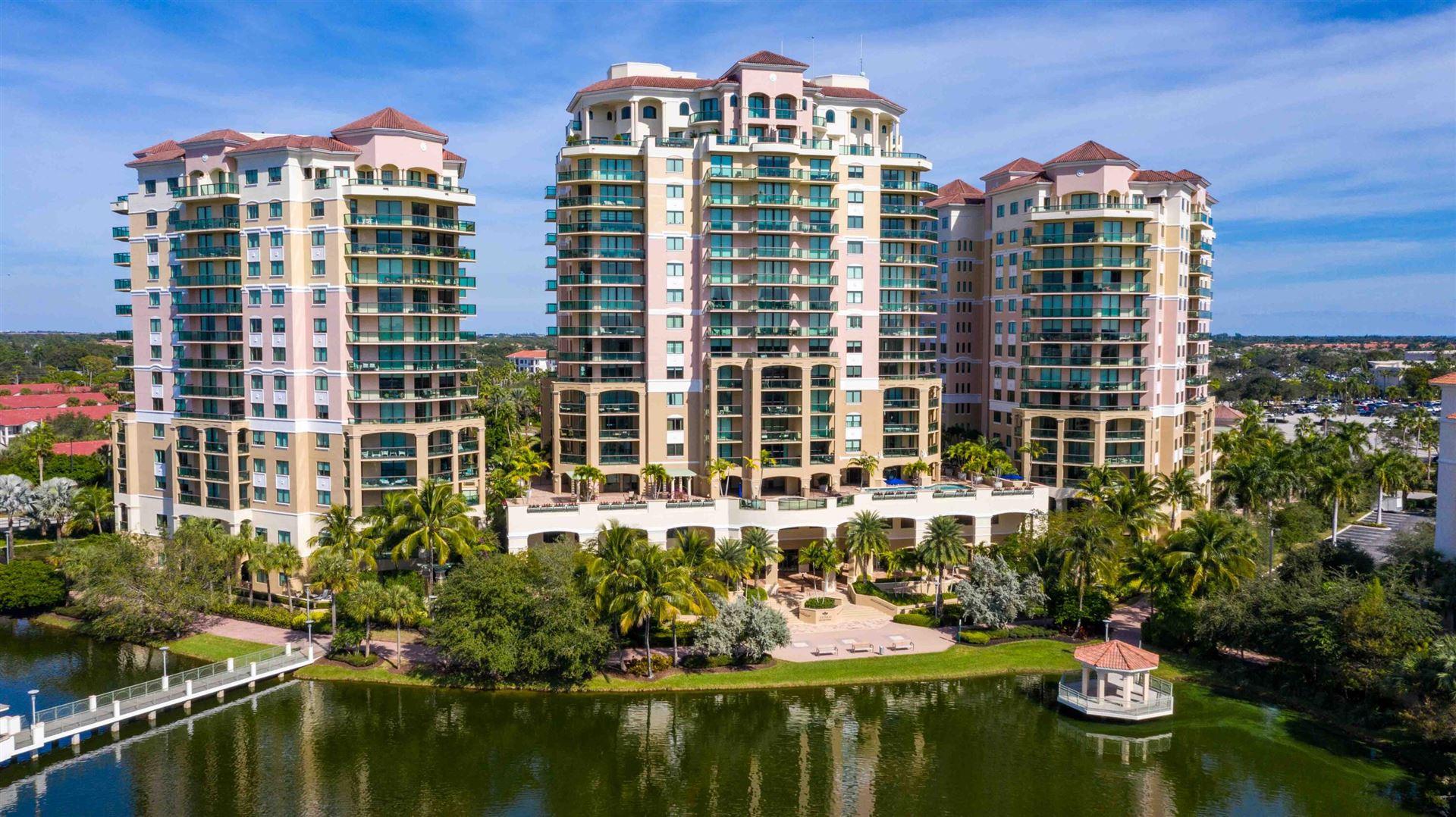 Photo for 3630 Gardens Parkway #803c, Palm Beach Gardens, FL 33410 (MLS # RX-10751748)